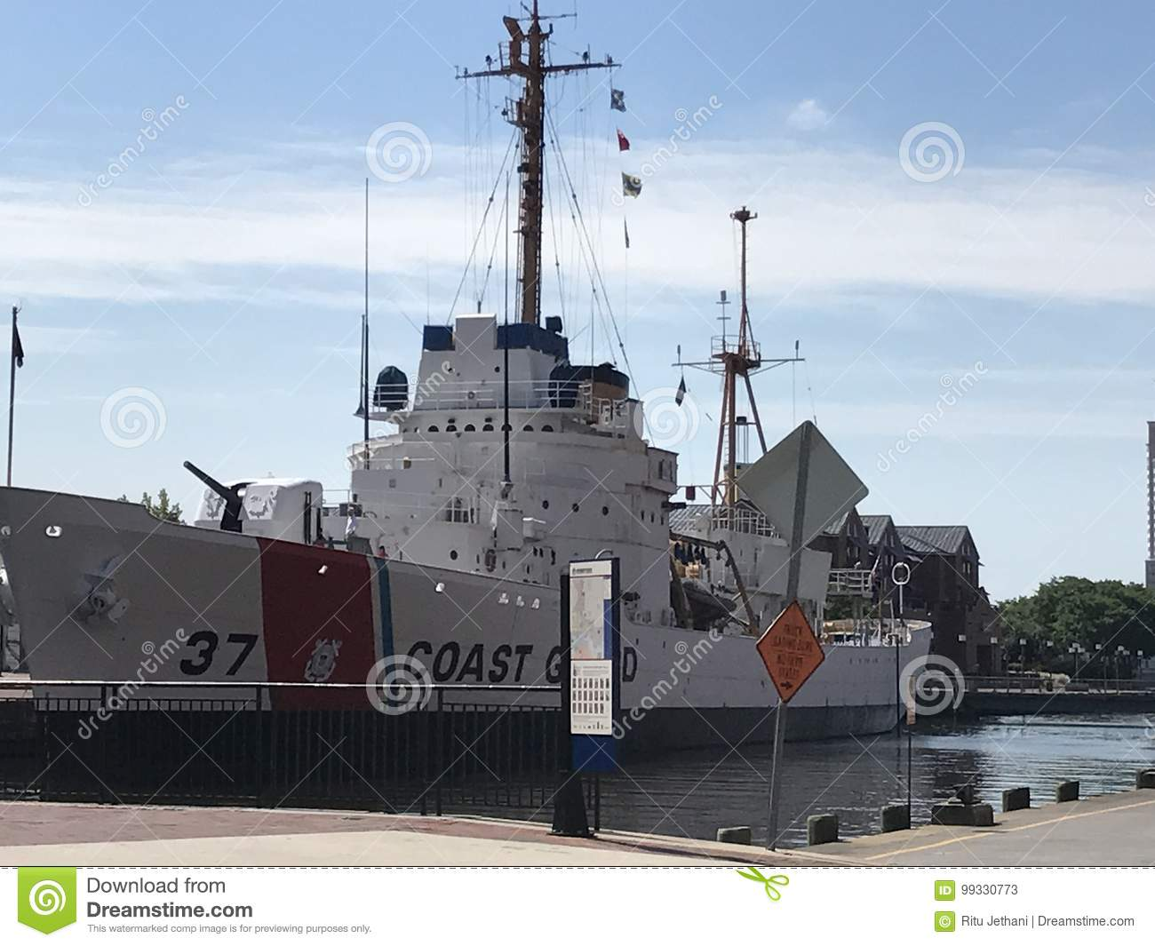 USCGC Taney in Baltimore, Maryland