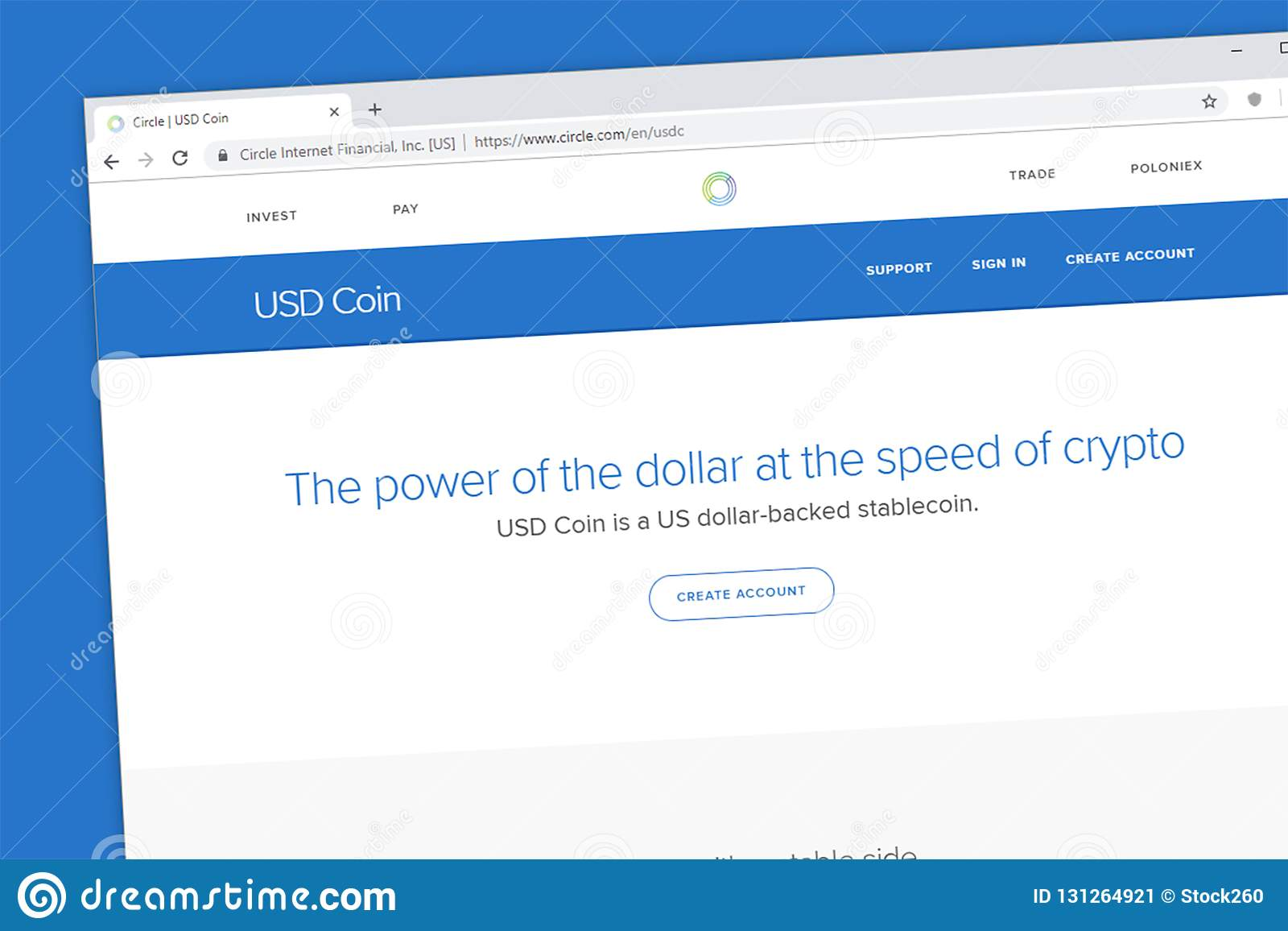usd coin coinbase