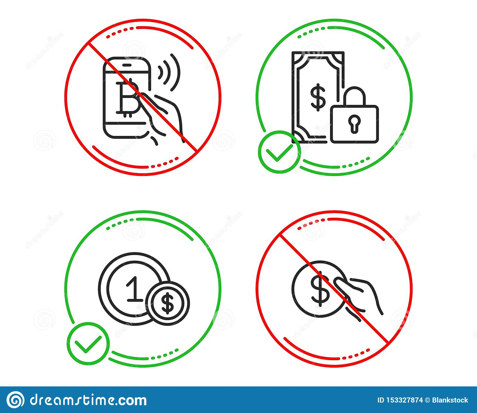 Usd Coins Bitcoin Pay And Private Payment Icons Set Payment Sign Secure Finance Usd Coin Finance Set Vector Stock Vector Illustration Of Coin Contribution 153327874