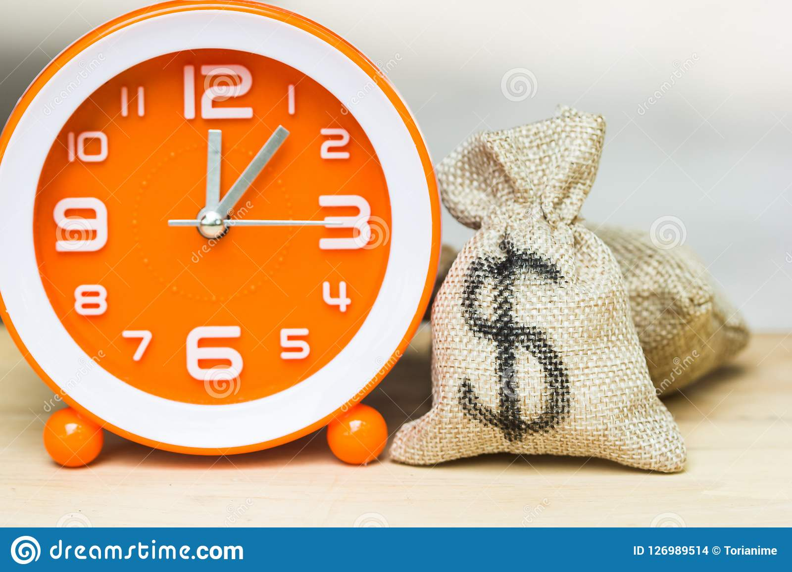 Use money investment to save time and resources concept.