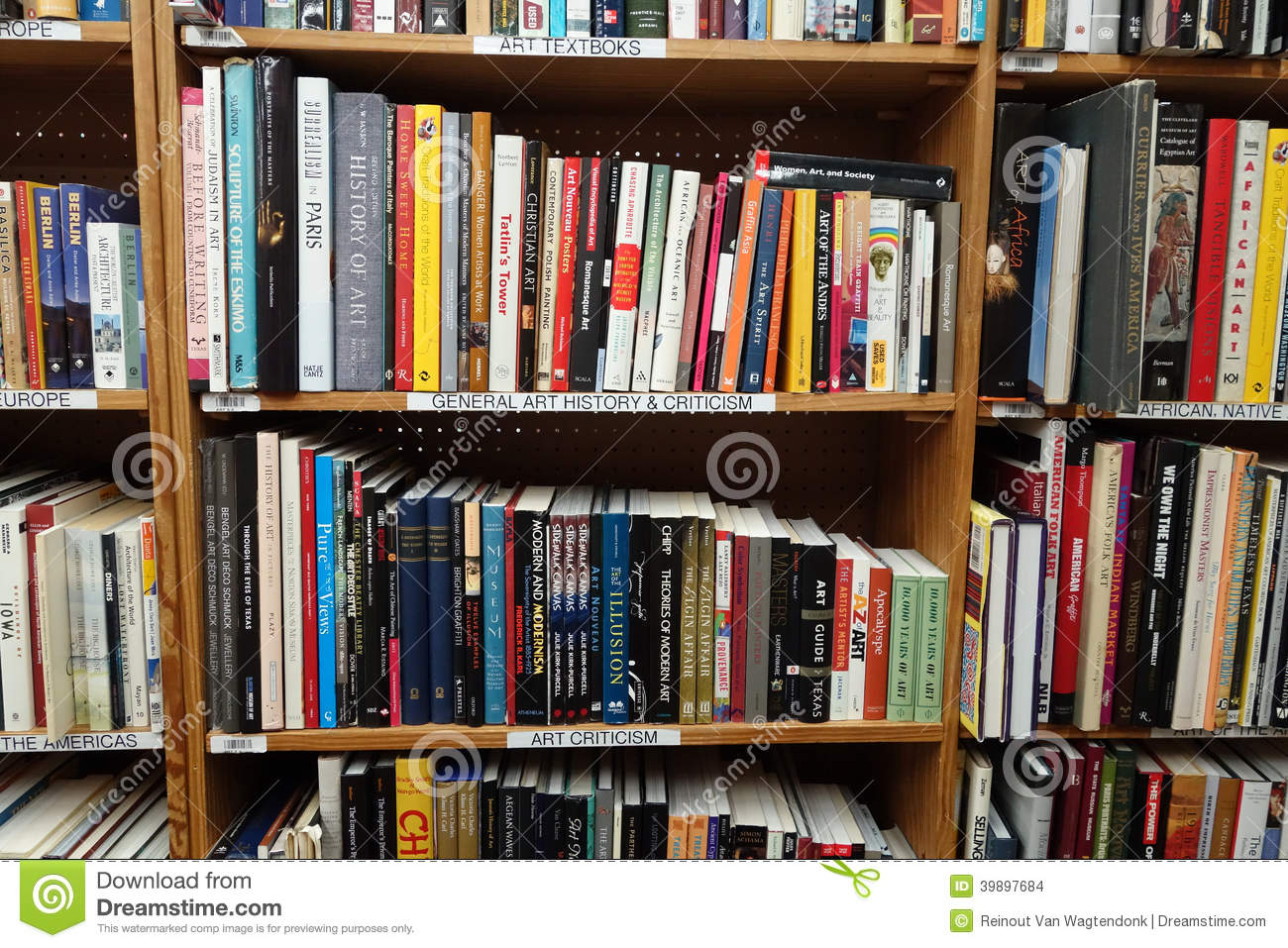 Used Art Books For Sale Editorial Stock Image Of Book