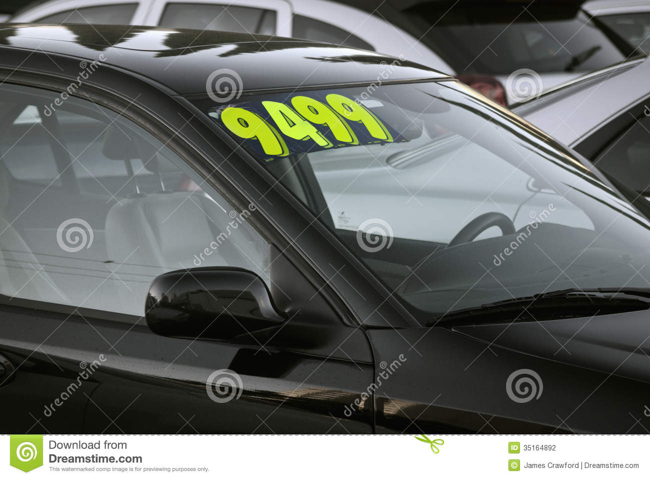 Used car for sale stock photo. Image of salesman, sale - 35164892
