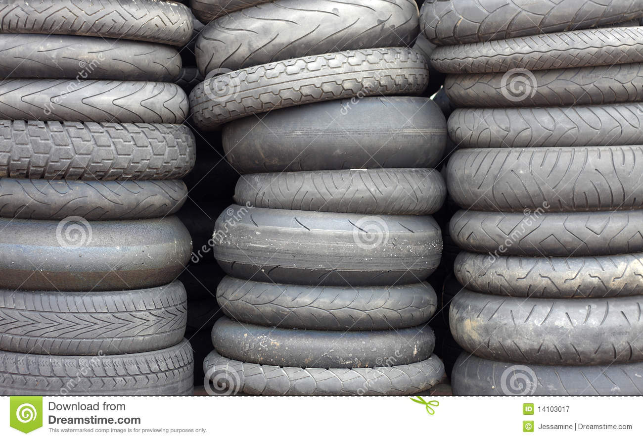 stockpile of used tires royalty free stock photography 61154327. Black Bedroom Furniture Sets. Home Design Ideas