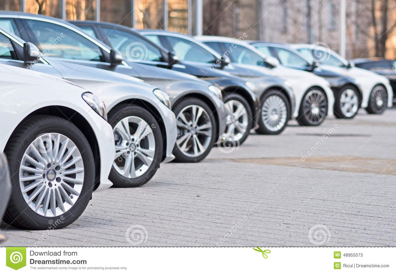Used cars for sale stock image. Image of cars, license - 48955073