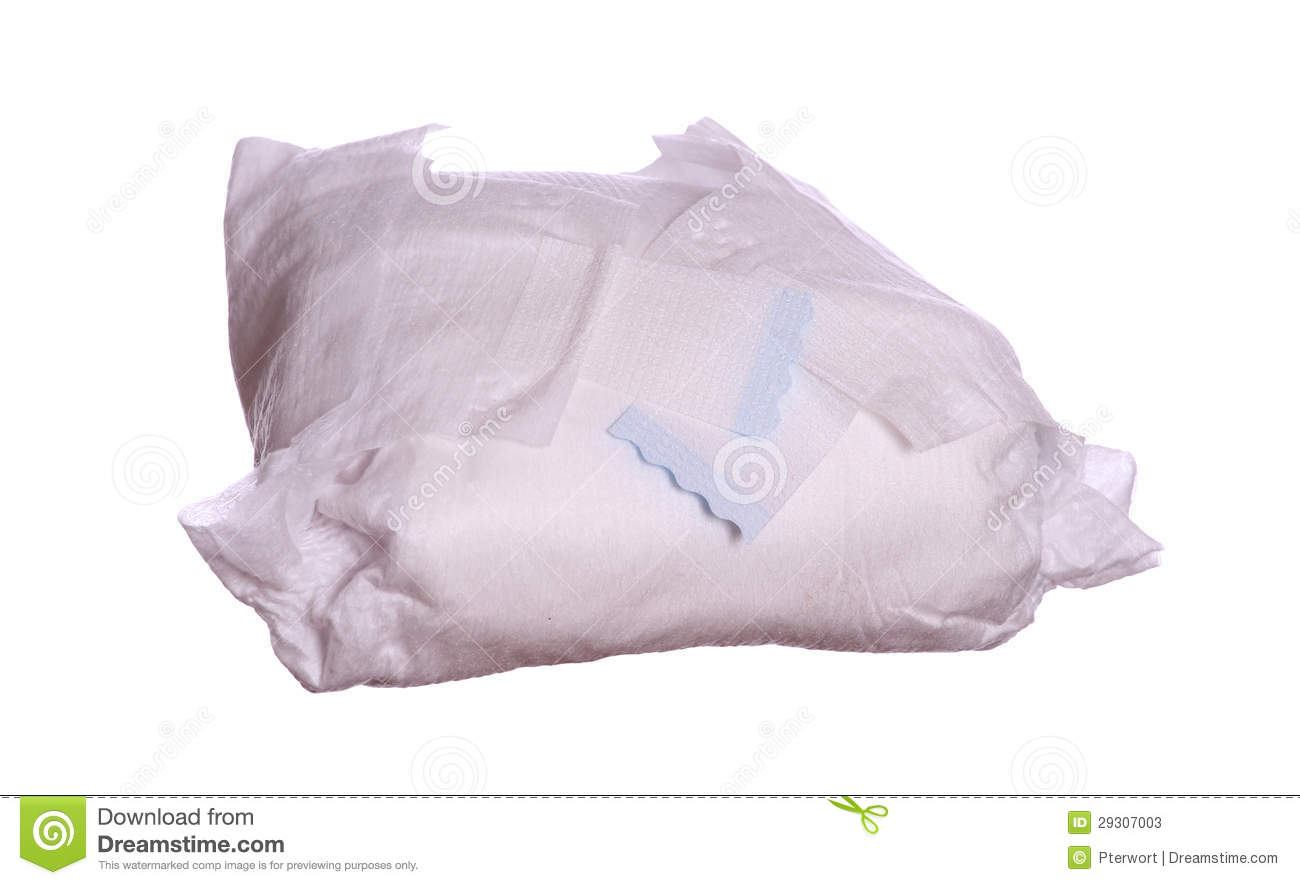 Used diaper stock image. Image of body, diaper, care ...