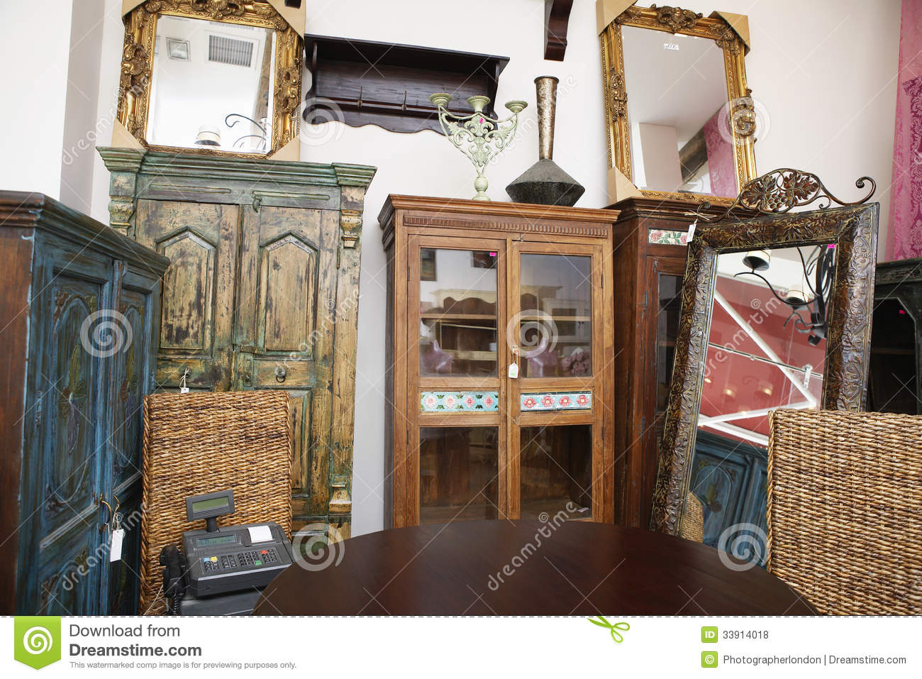 2Nd Hand Furniture Store used furniture store royalty free stock photos - image: 33914018
