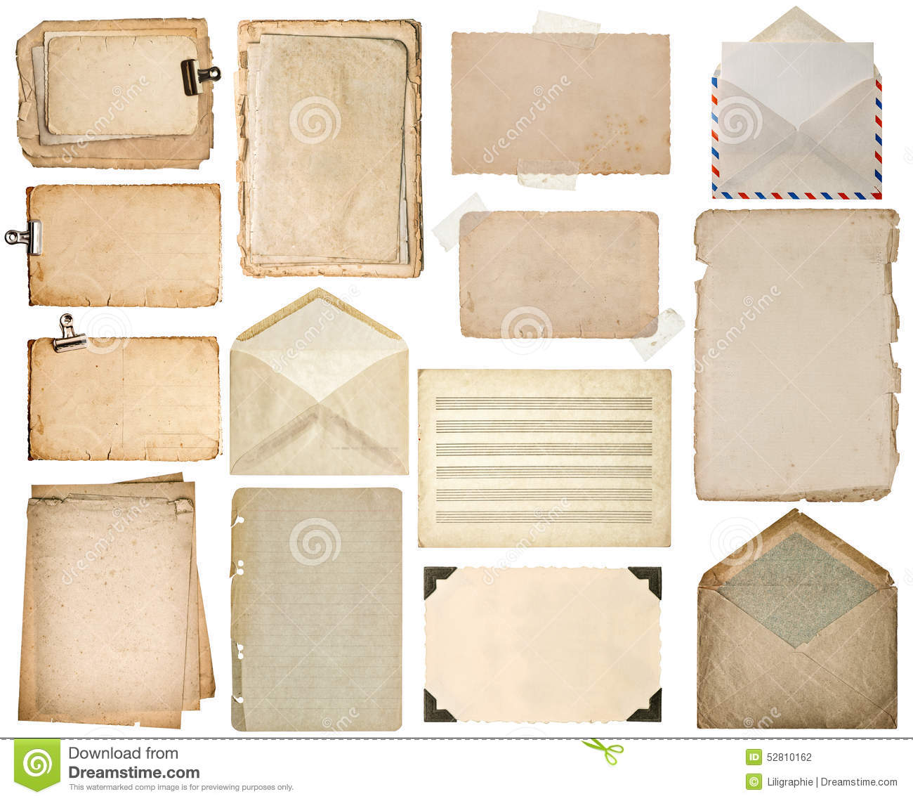 Used paper sheets old book pages cardboards music notes for Vintage book paper
