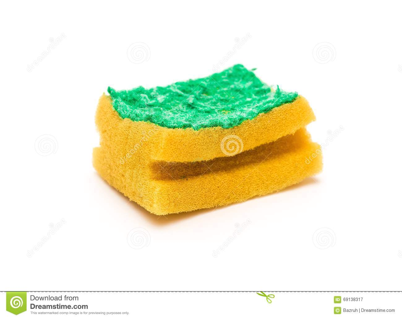 Old kitchen washer on background stock image 13992997 - Seven different uses of the kitchen sponge ...