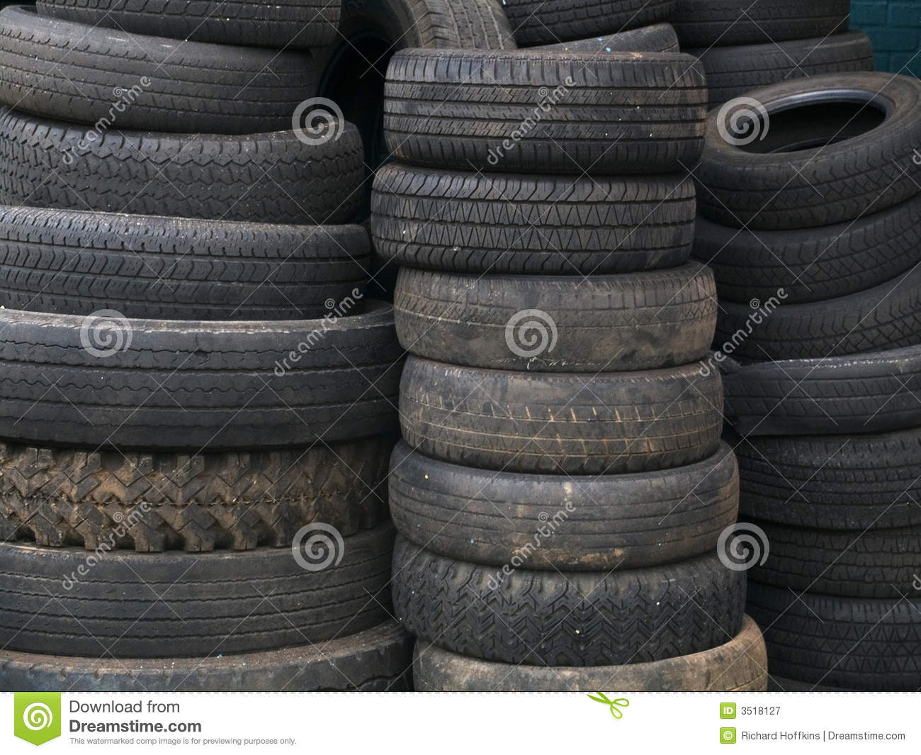 royalty free stock photography used tires image 3518127. Black Bedroom Furniture Sets. Home Design Ideas