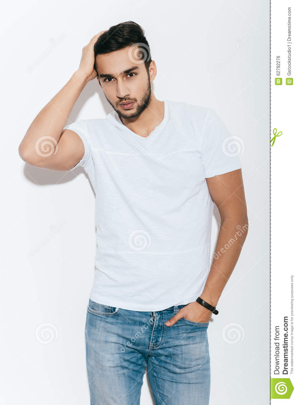 Used To Look Good. Stock Photo