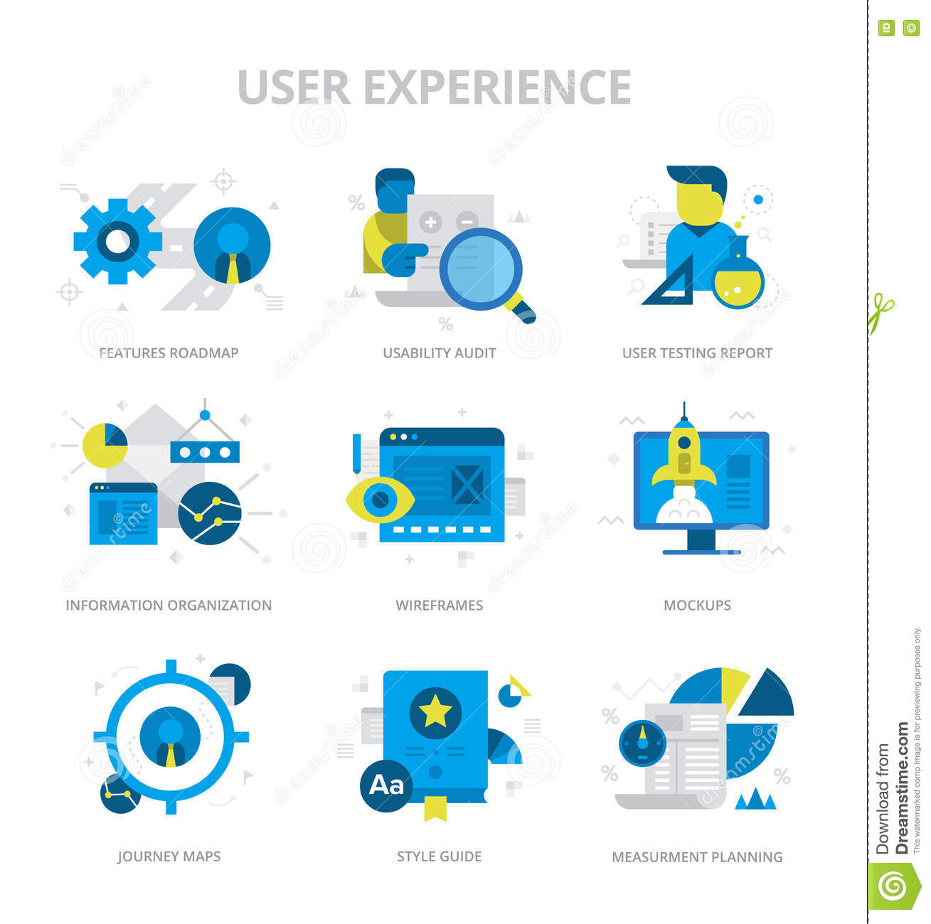 User Experience Flat I...