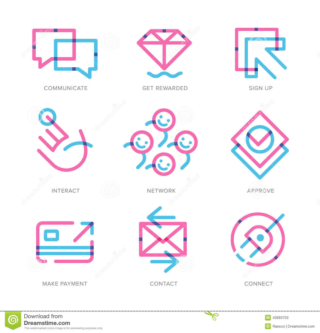 User Experience Icons ...