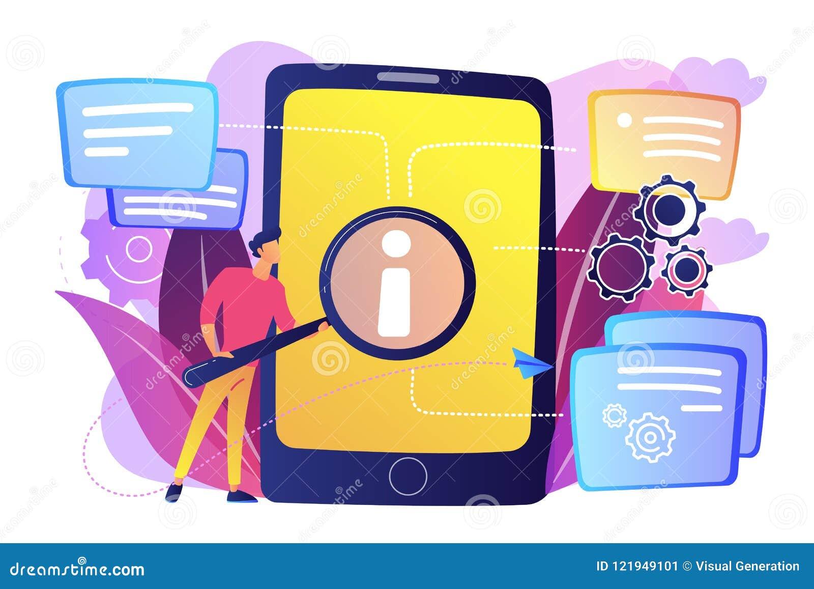 User Guide Concept Vector Illustration. Stock Vector ...