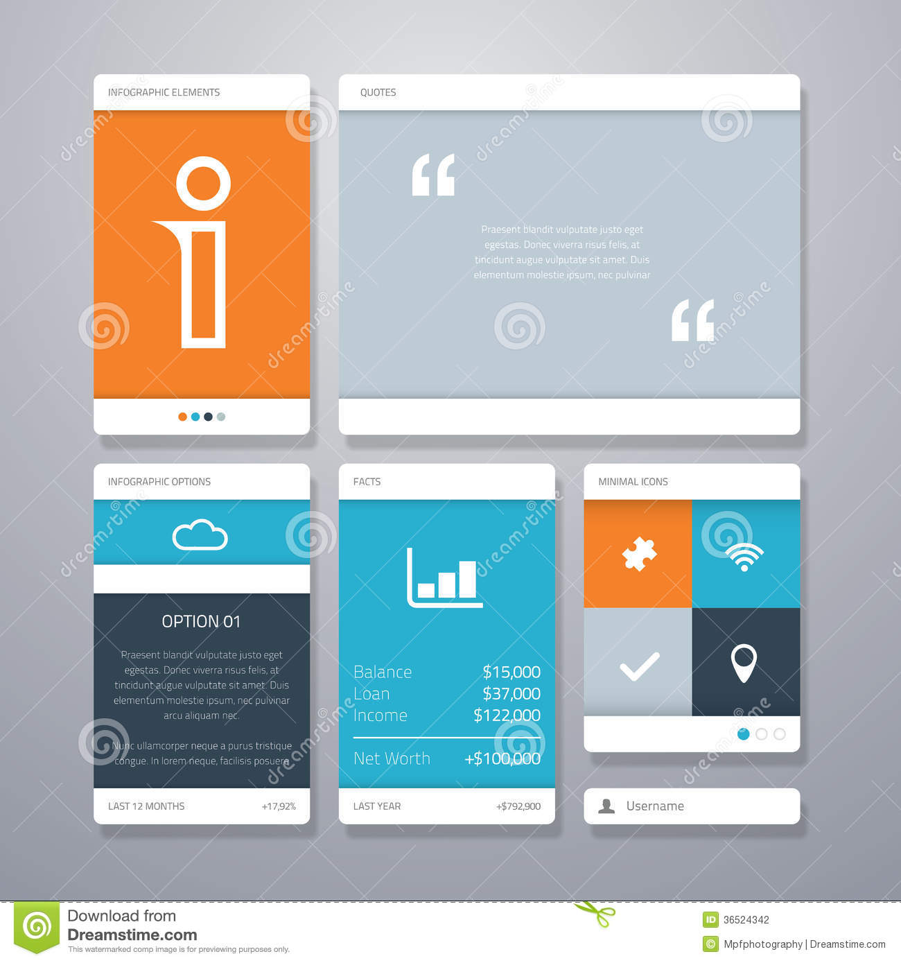 User Interface (ui) And Infographic Vector Element Stock ...