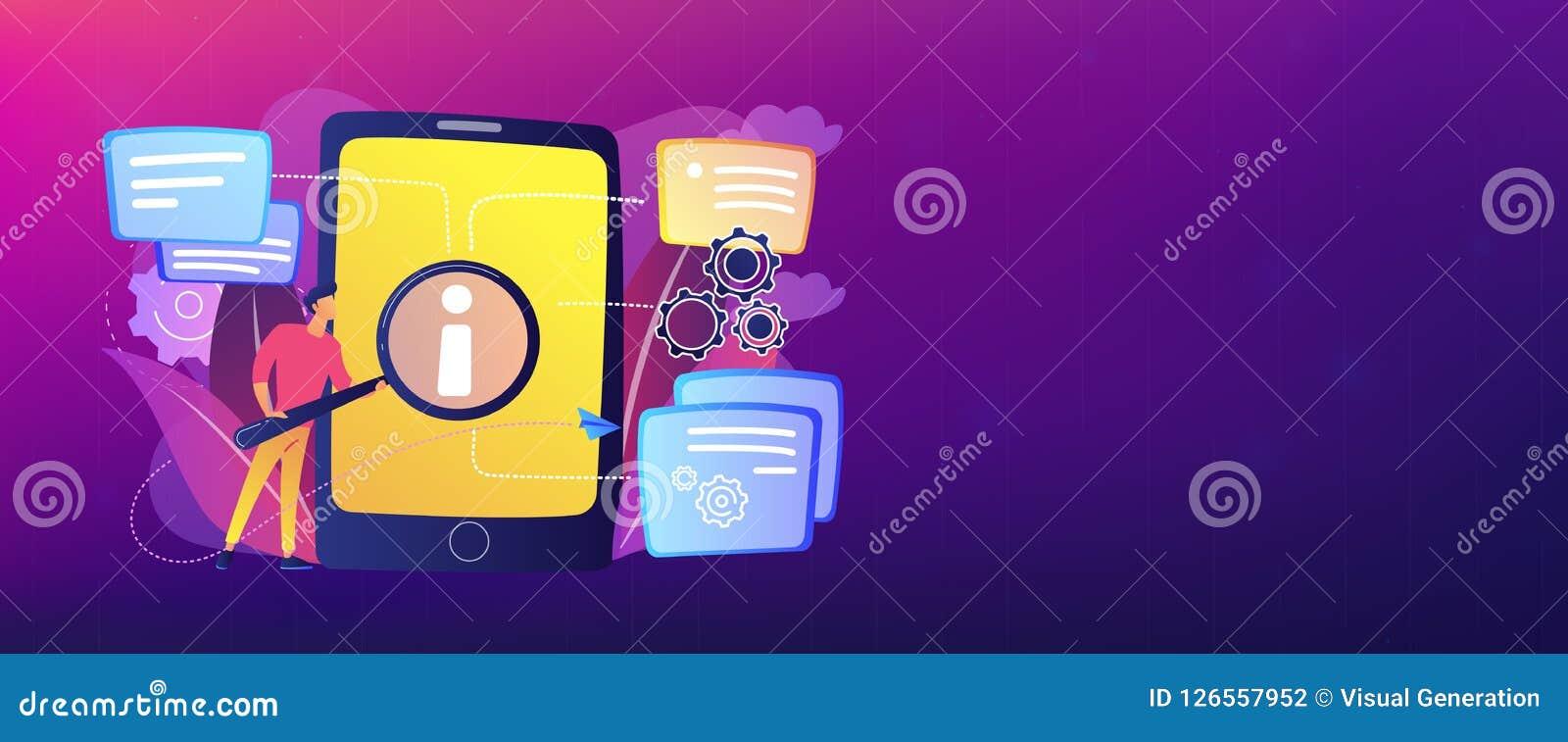 User guide header banner. stock vector. Illustration of element ...