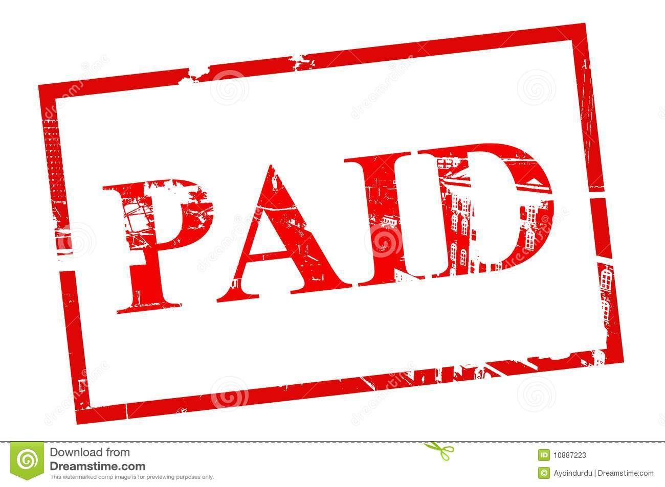 Paid Stamp Stock Illustrations Paid Stamp Stock Illustrations - Invoice paid stamp