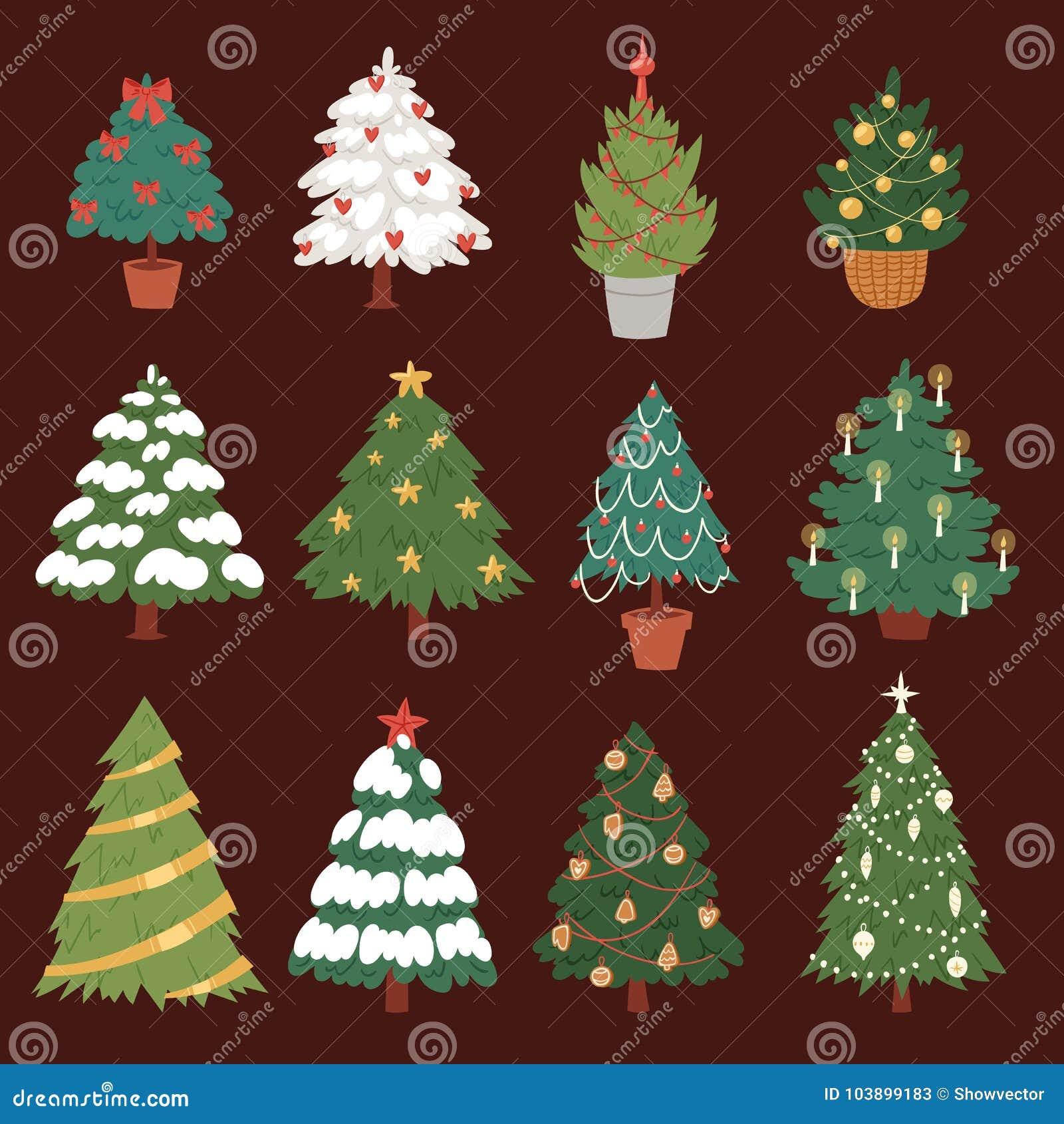 Usine d arbre de partie de saison d hiver de célébration de vacances de conception de cadeau de Noël d étoile d ornement d icônes