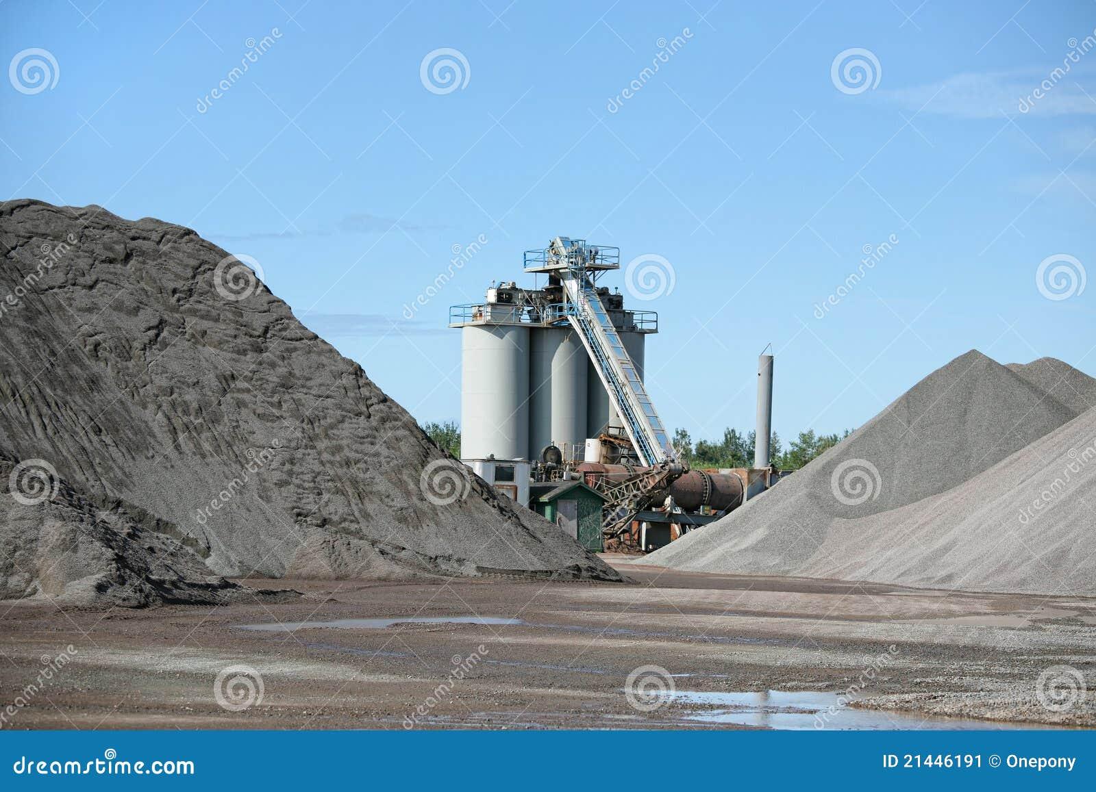 Usine d asphalte