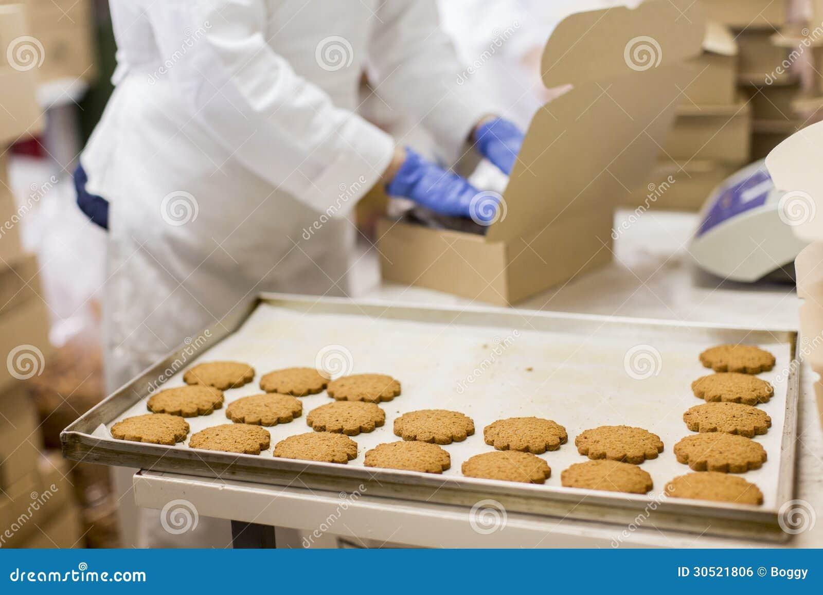 Usine de biscuits