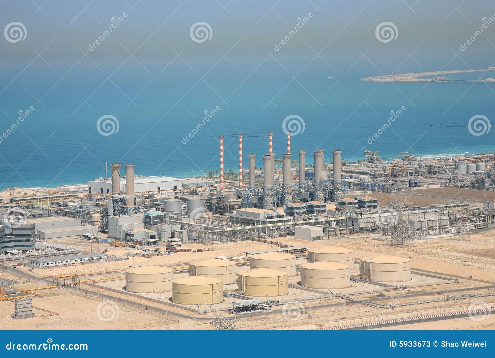 usine de dessalement de l 39 eau photos stock image 5933673. Black Bedroom Furniture Sets. Home Design Ideas