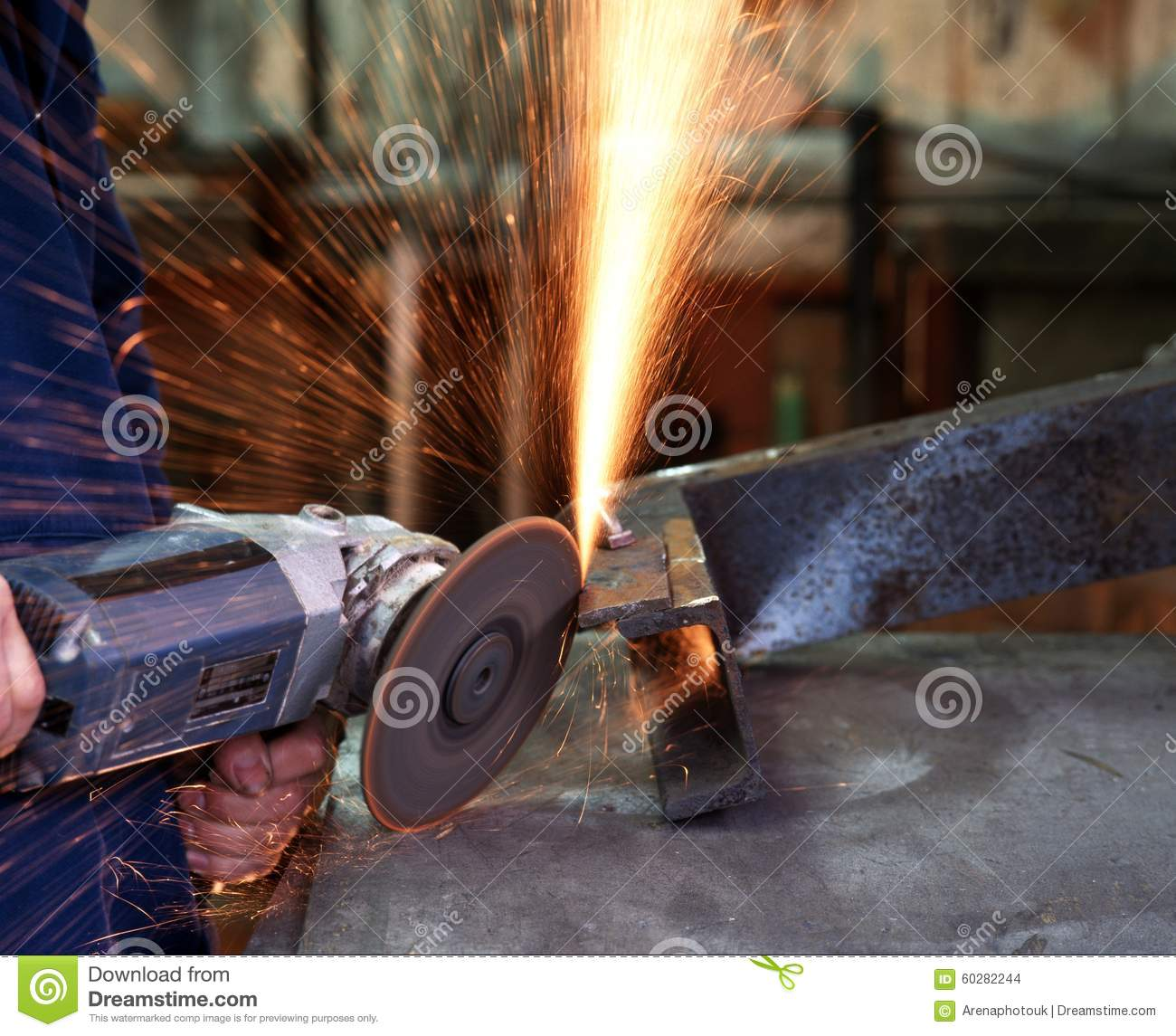 how to cut cement with an angle grinder