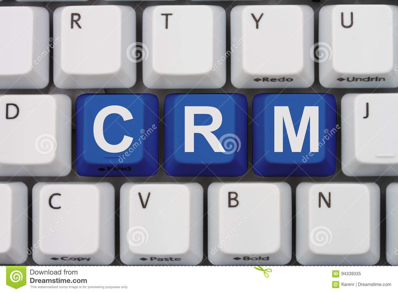 Using CRM software