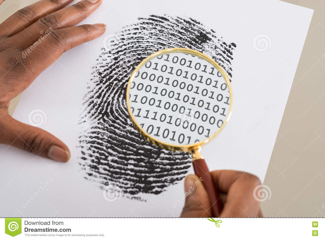 personality is a fingerprint to a persons identity Because everyones fingerprints are unique the loops and whorls are different for everyone although identical twins can share dna, their fingerprints will be uniquethey are unique to each person so once on file they can be used forthat.
