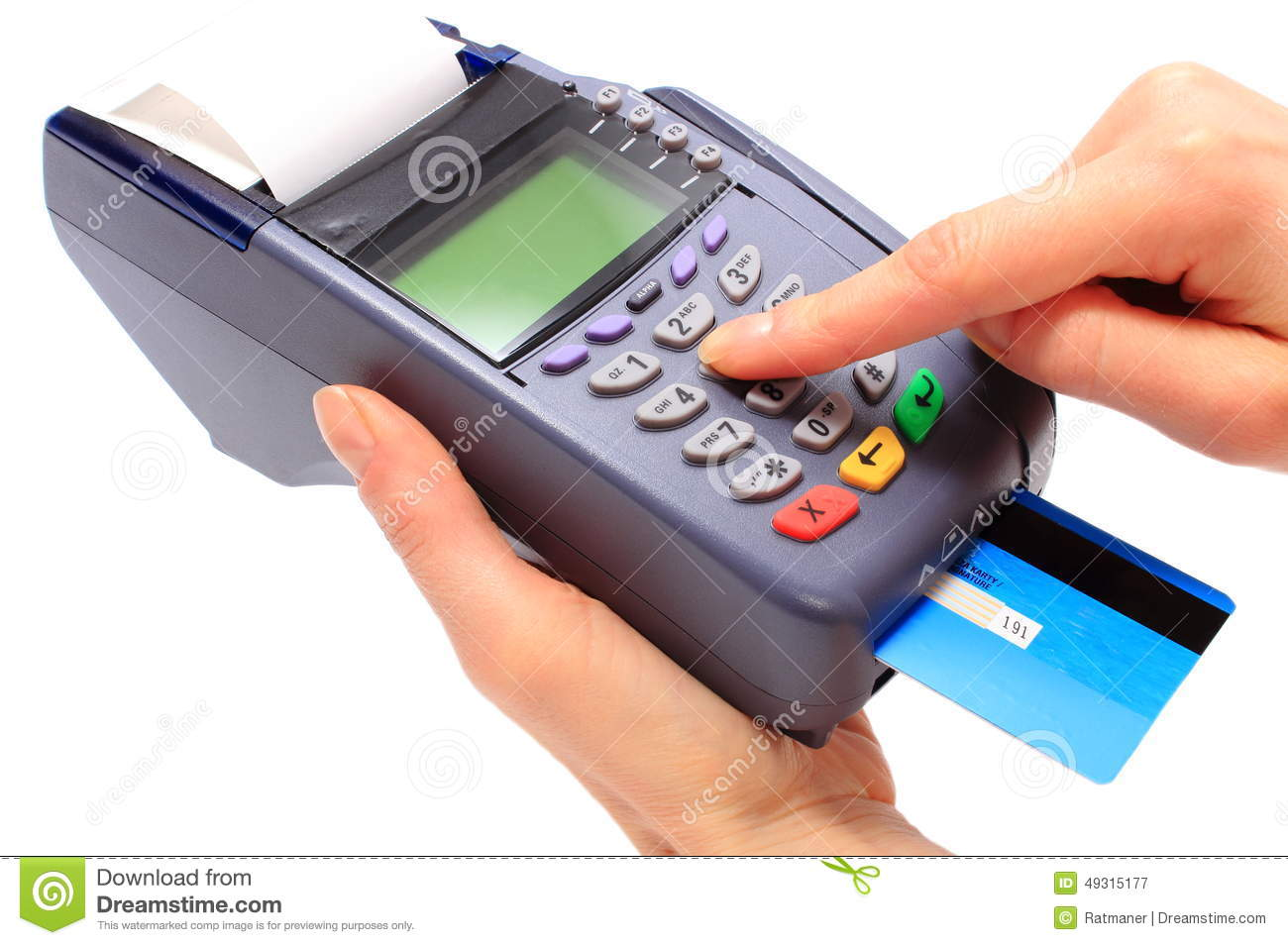 how to develop credit card terminal