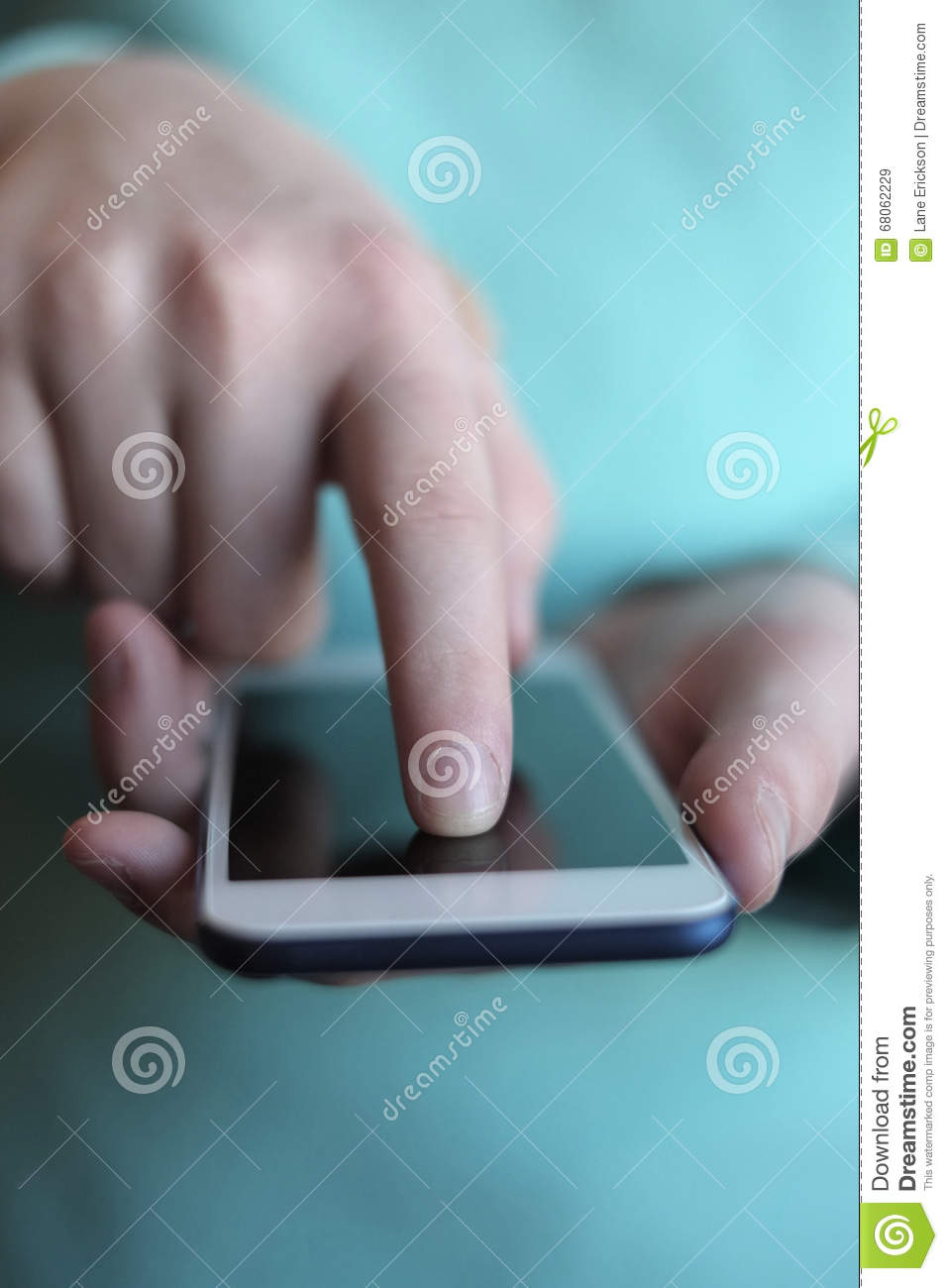 Using Smart Phone to Communicate Text