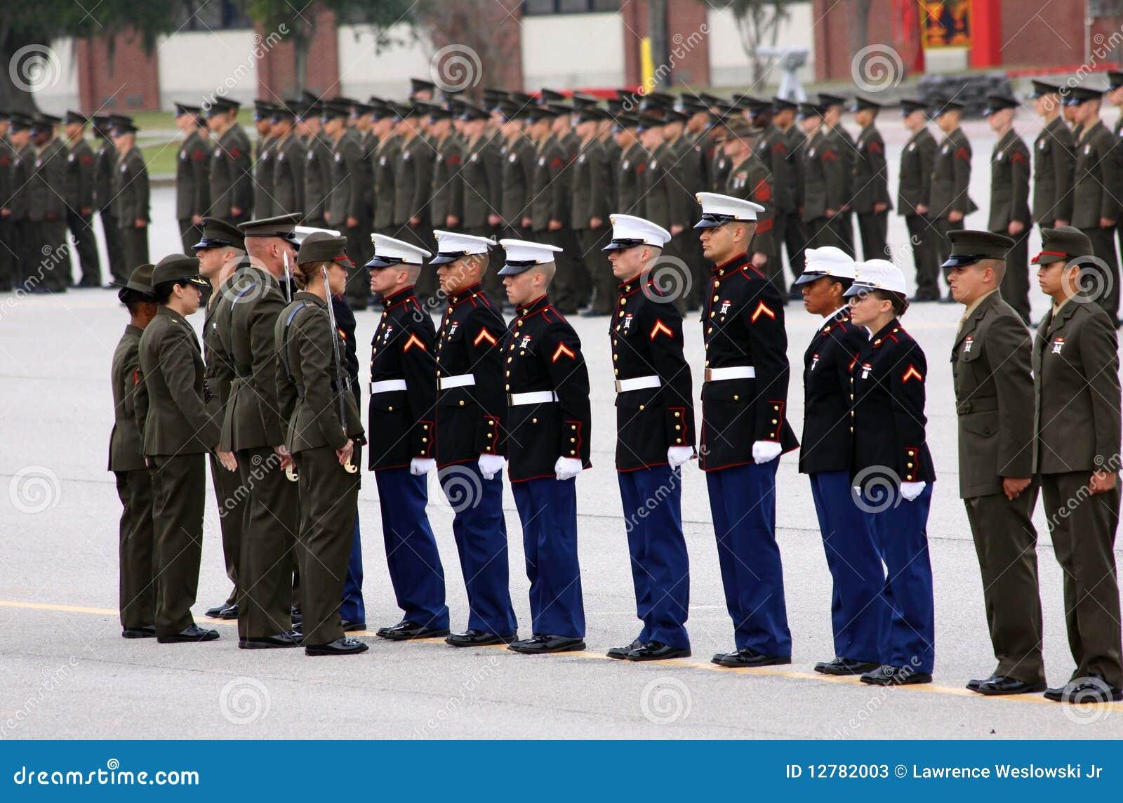 USMC de Toekenning van de Rekruut van de Eer van de Graduatie