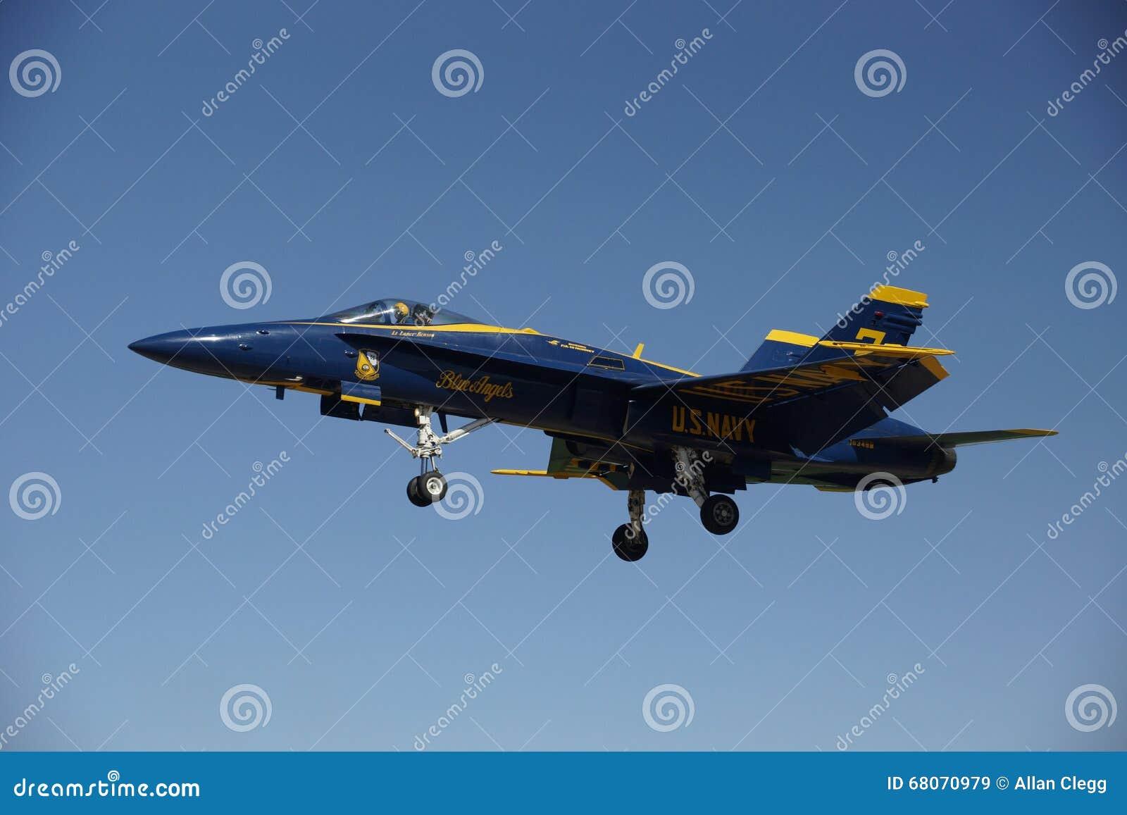 USN F/A-18 D der blauen Angeles