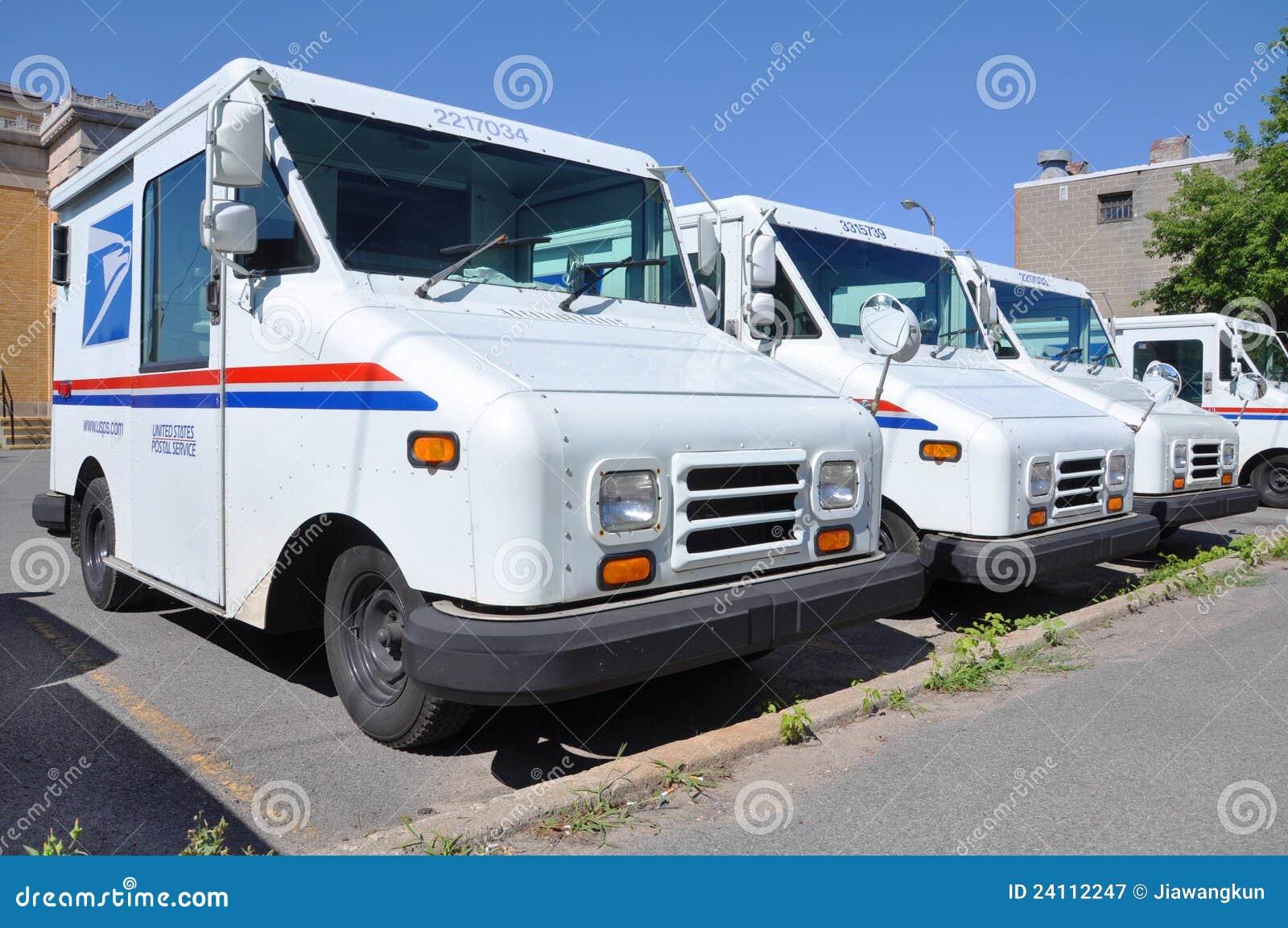 USPS postal vehicle editorial photography  Image of vehicles