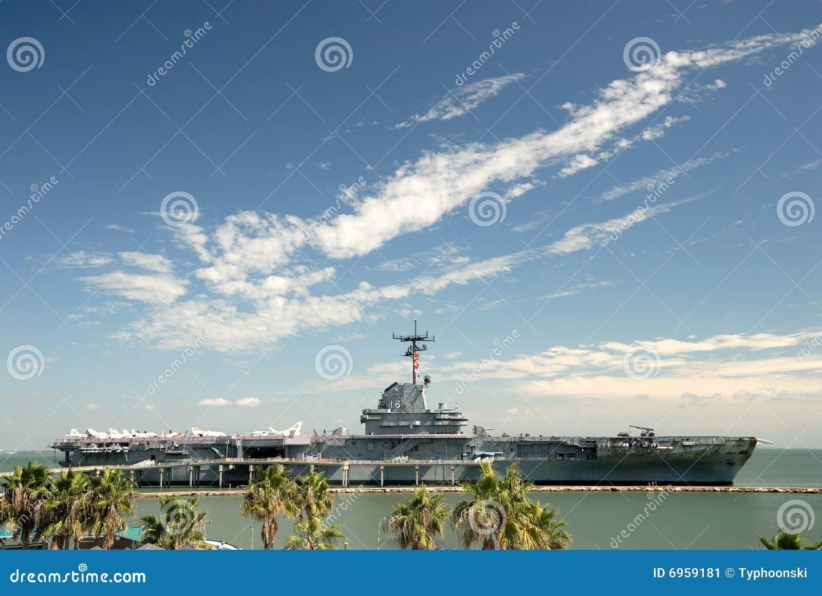 USS Lexington in Corpus Christi, Texas de V.S.