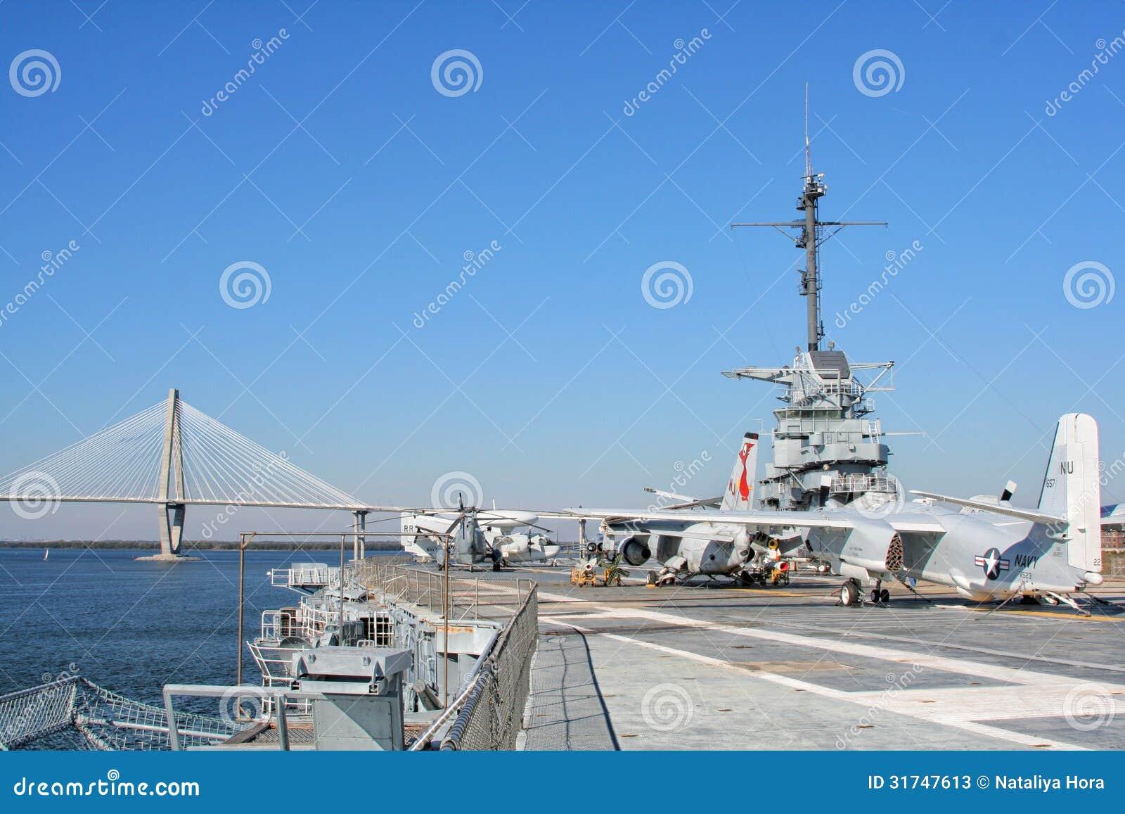 Aircraft Carrier Tour Charleston