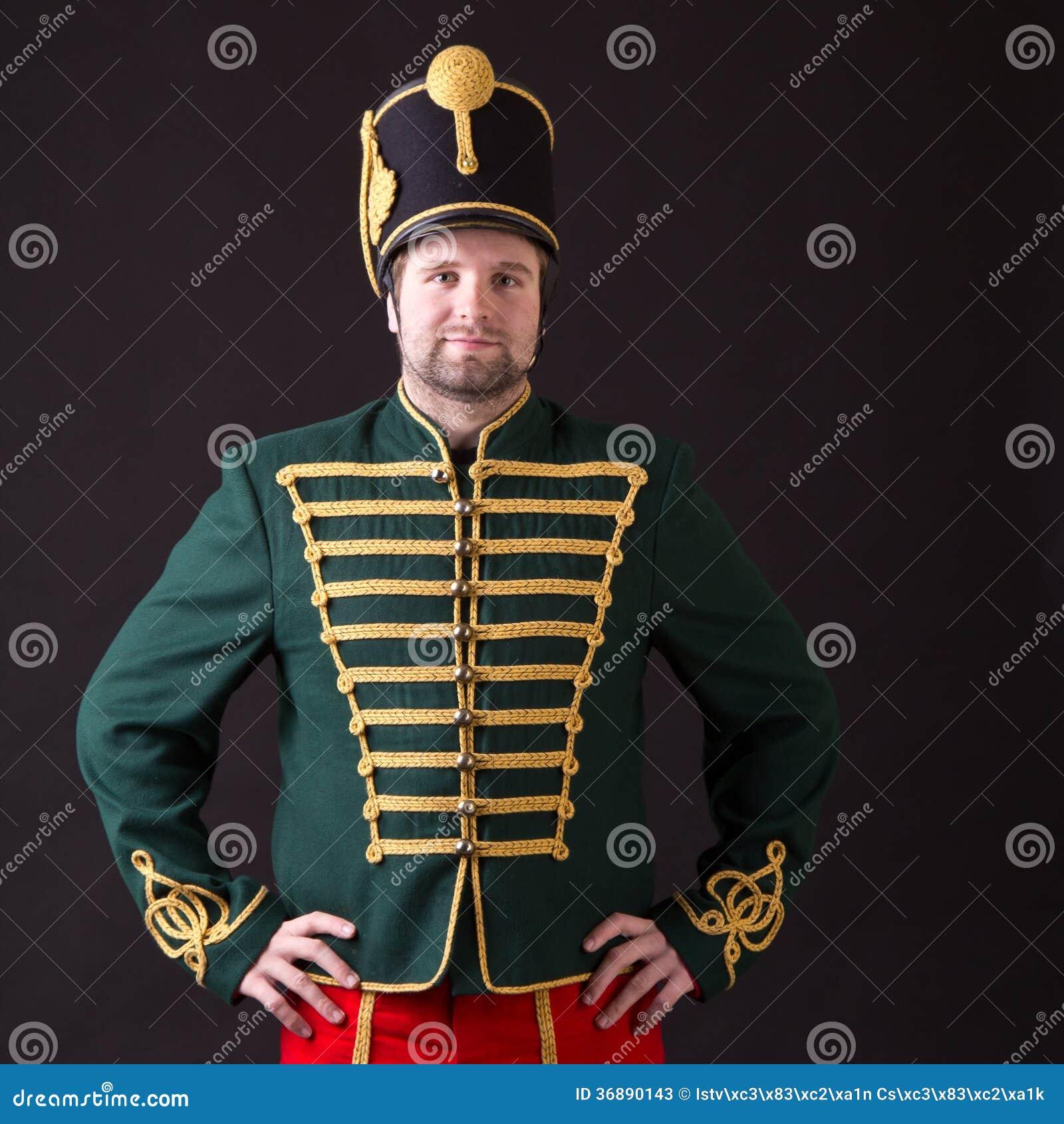 Download Ussaro ungherese immagine stock. Immagine di militare - 36890143