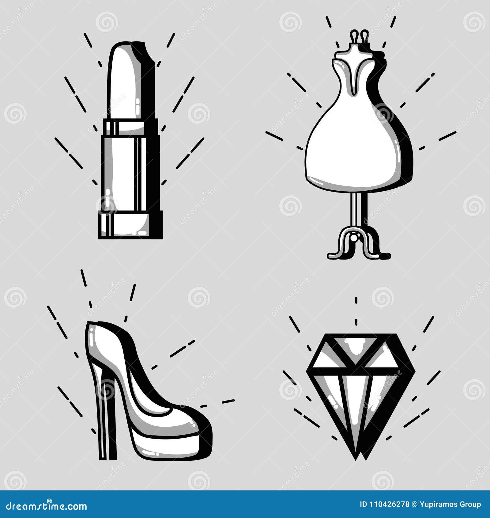 Ustalona moda łata modnego projekt