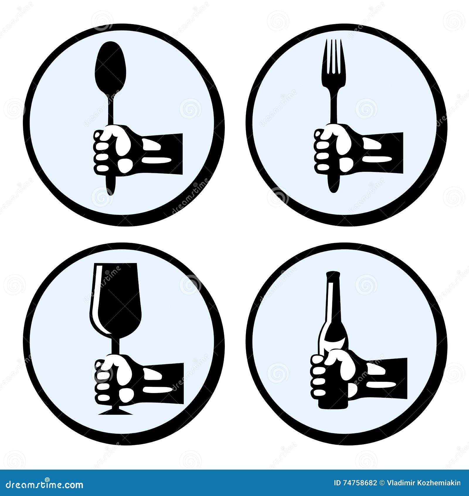Ustawia crockery i cutlery