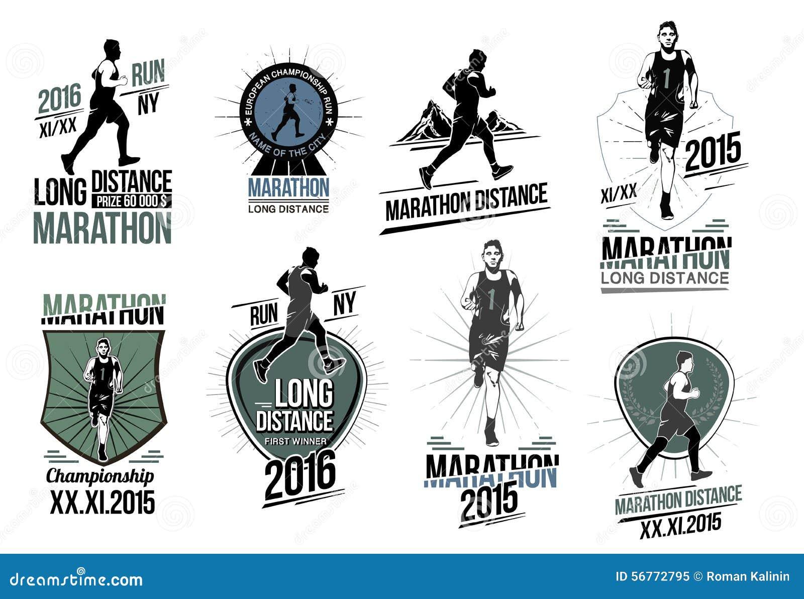 Ustawia na atletyka logach, etykietkach, emblematach i projektów elementach, Emblemat rywalizacja i