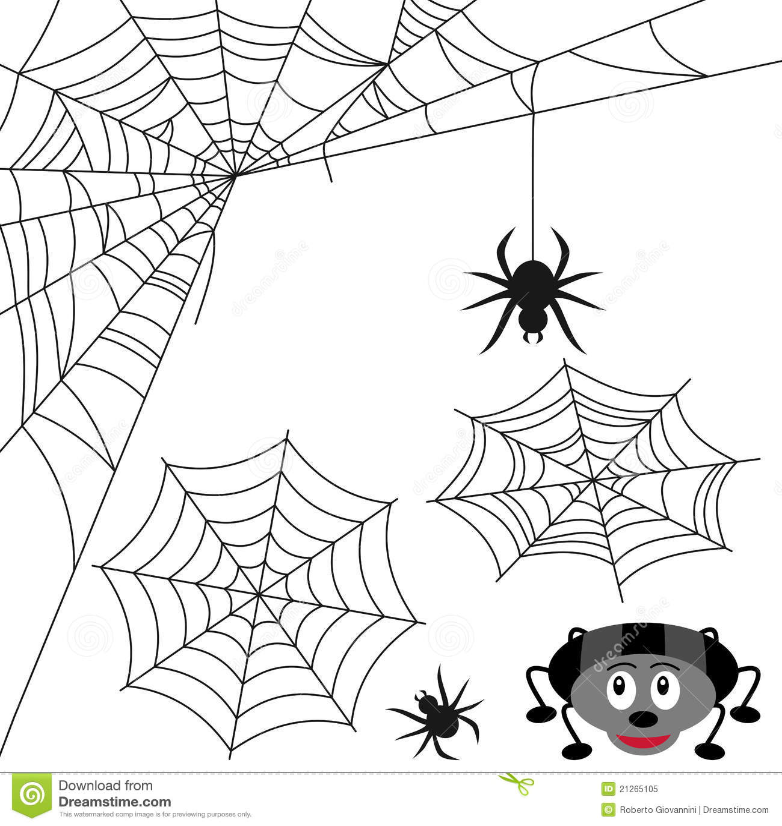 Ustawia pająk sieć
