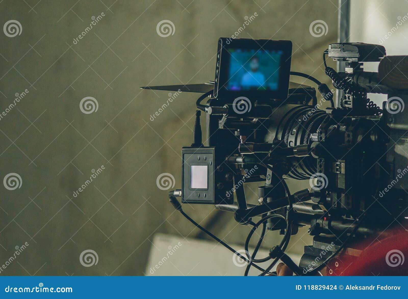 Ustawiająca film kamera