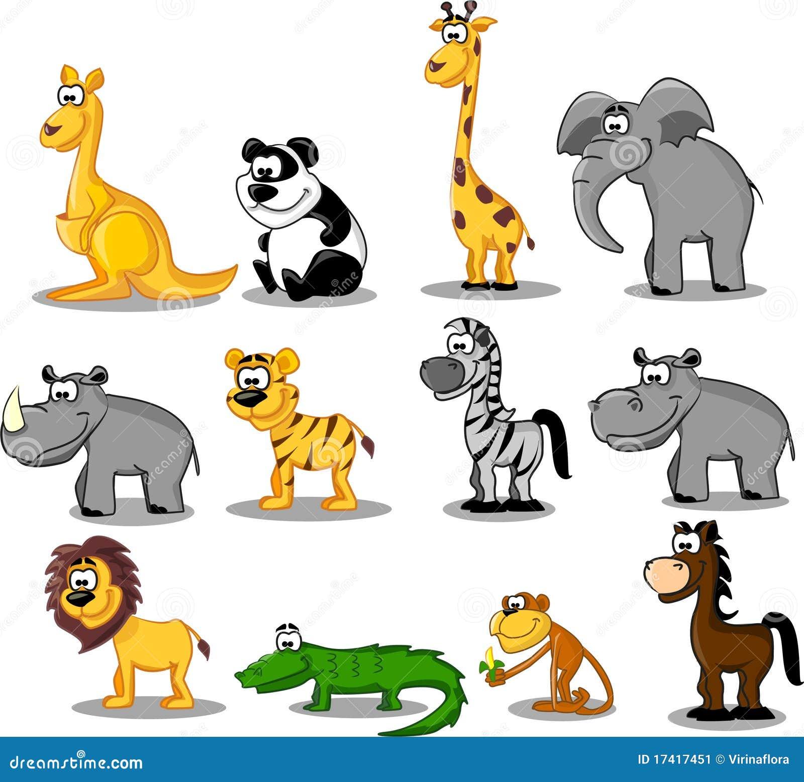 Ustawiający Africa zwierzęta