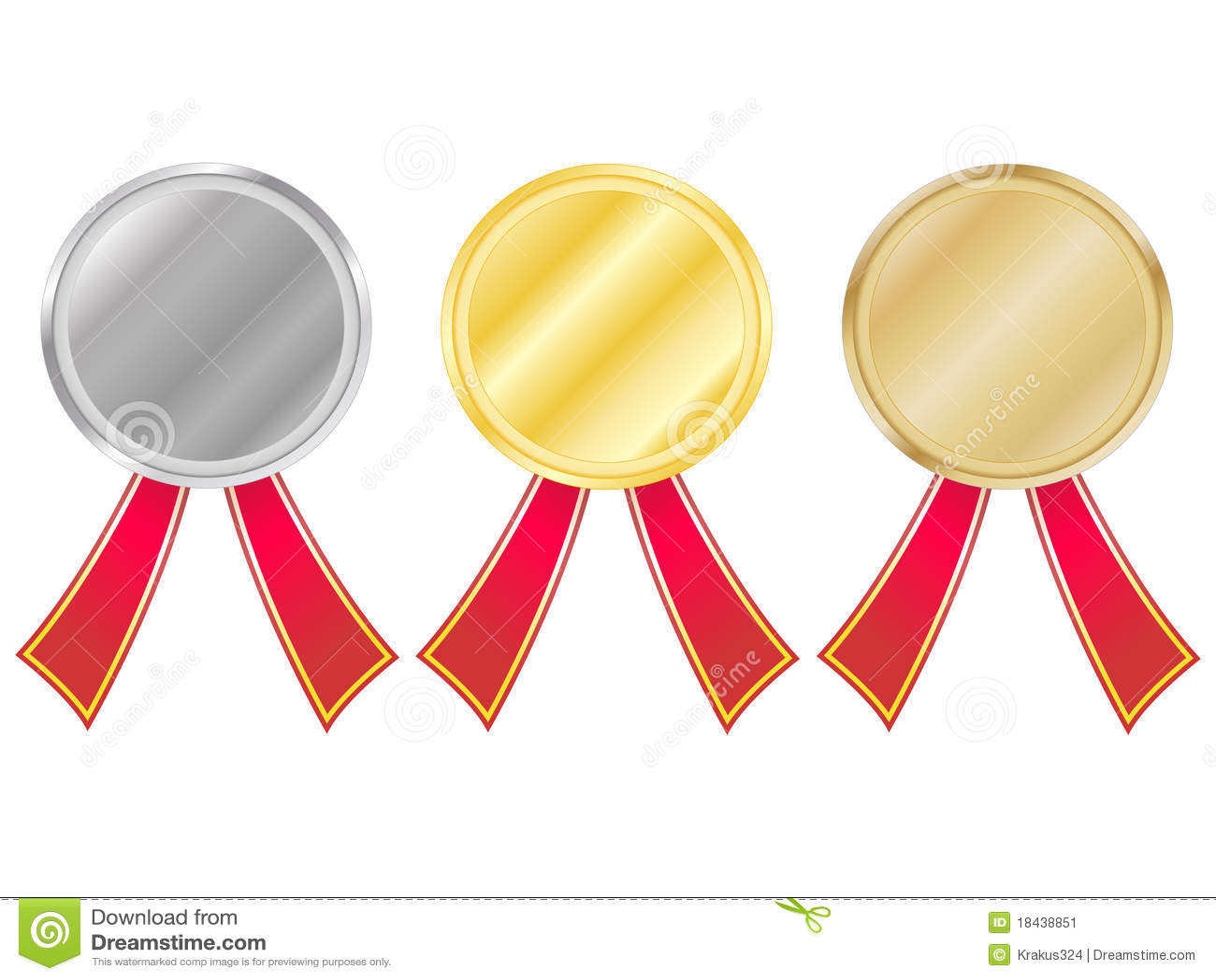 Ustawiający medali faborki