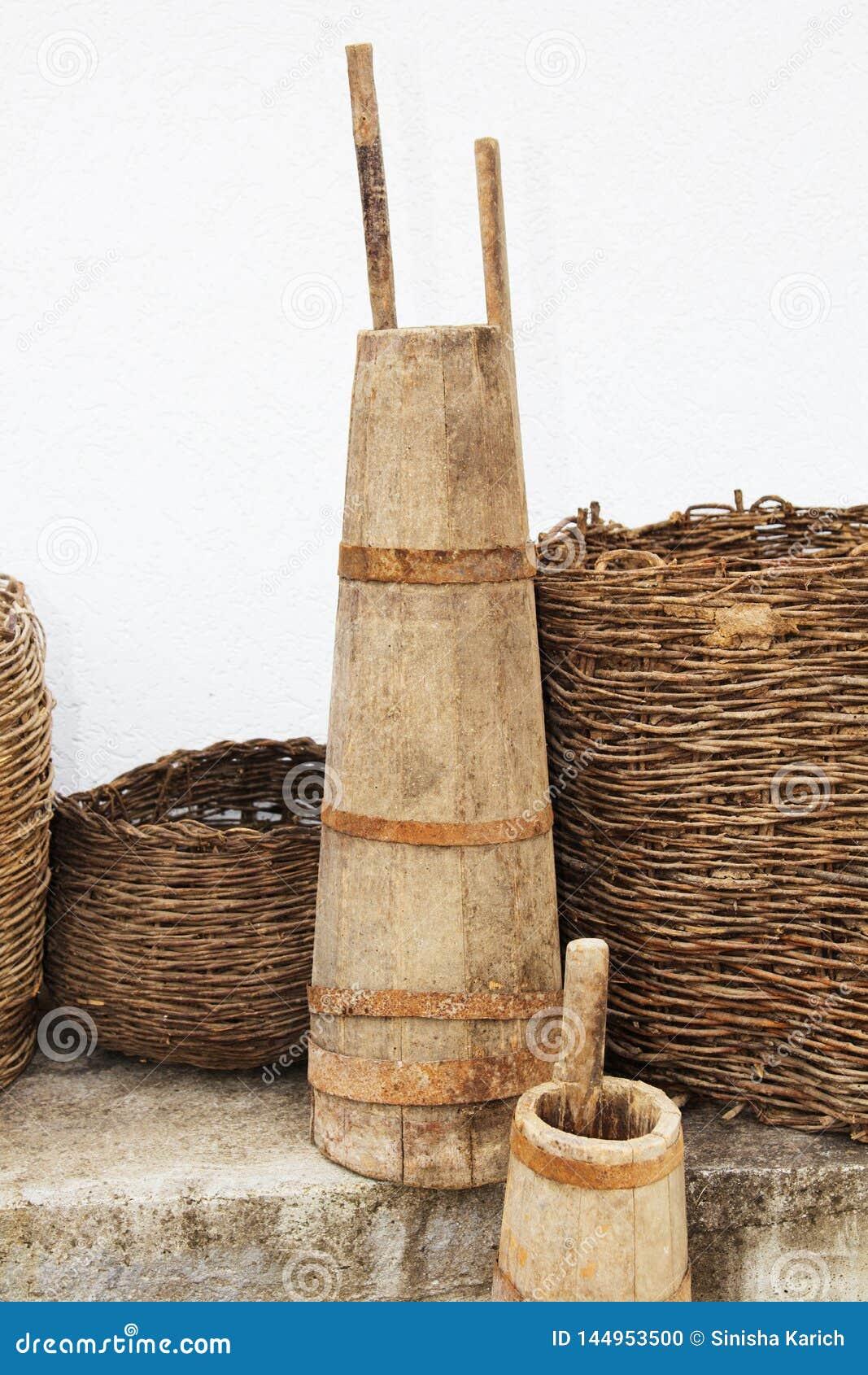 Ustensiles antiques de ménage