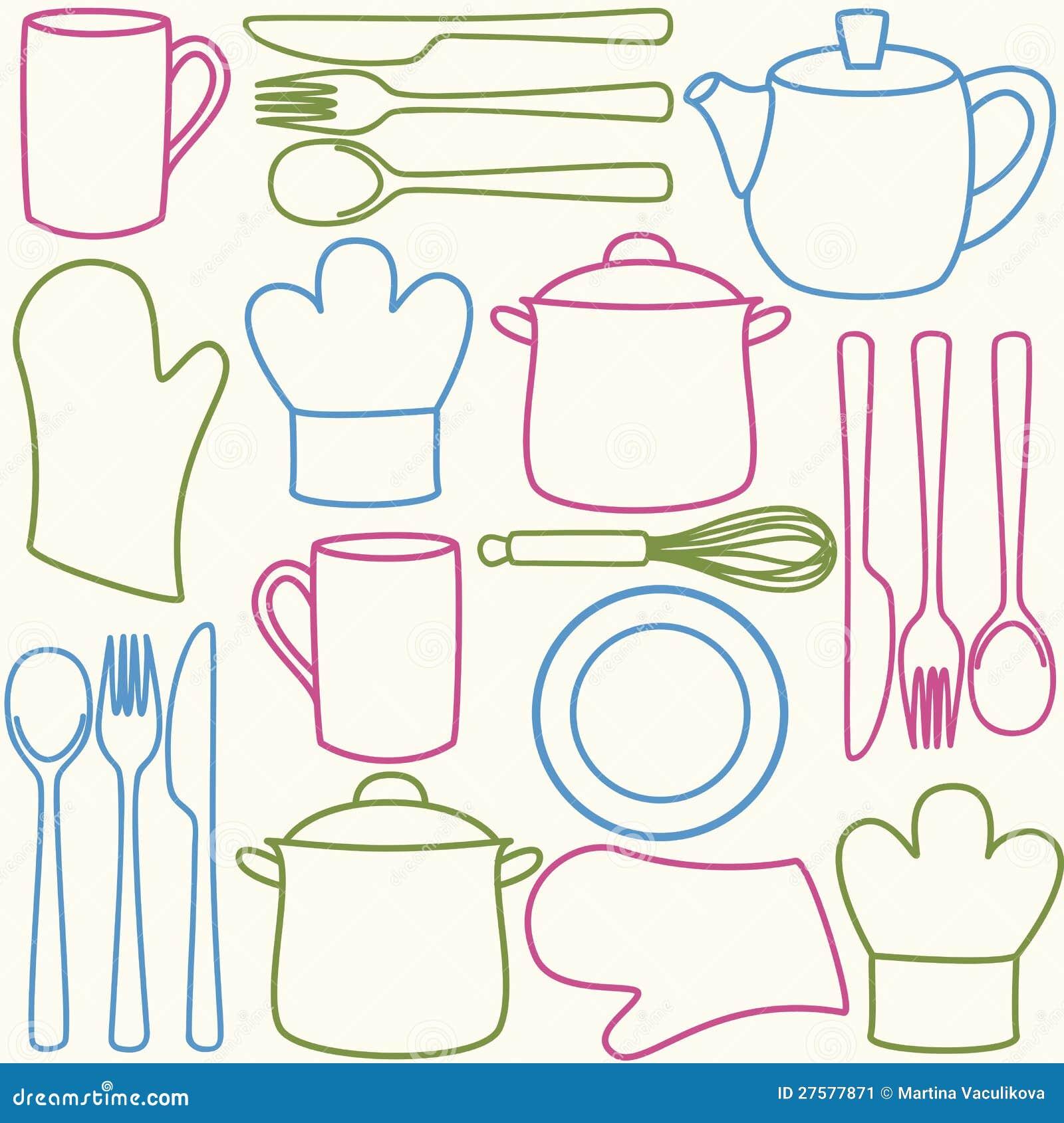 thumbs.dreamstime.com/z/ustensiles-de-cuisine-configuration-sans-joint-27577871