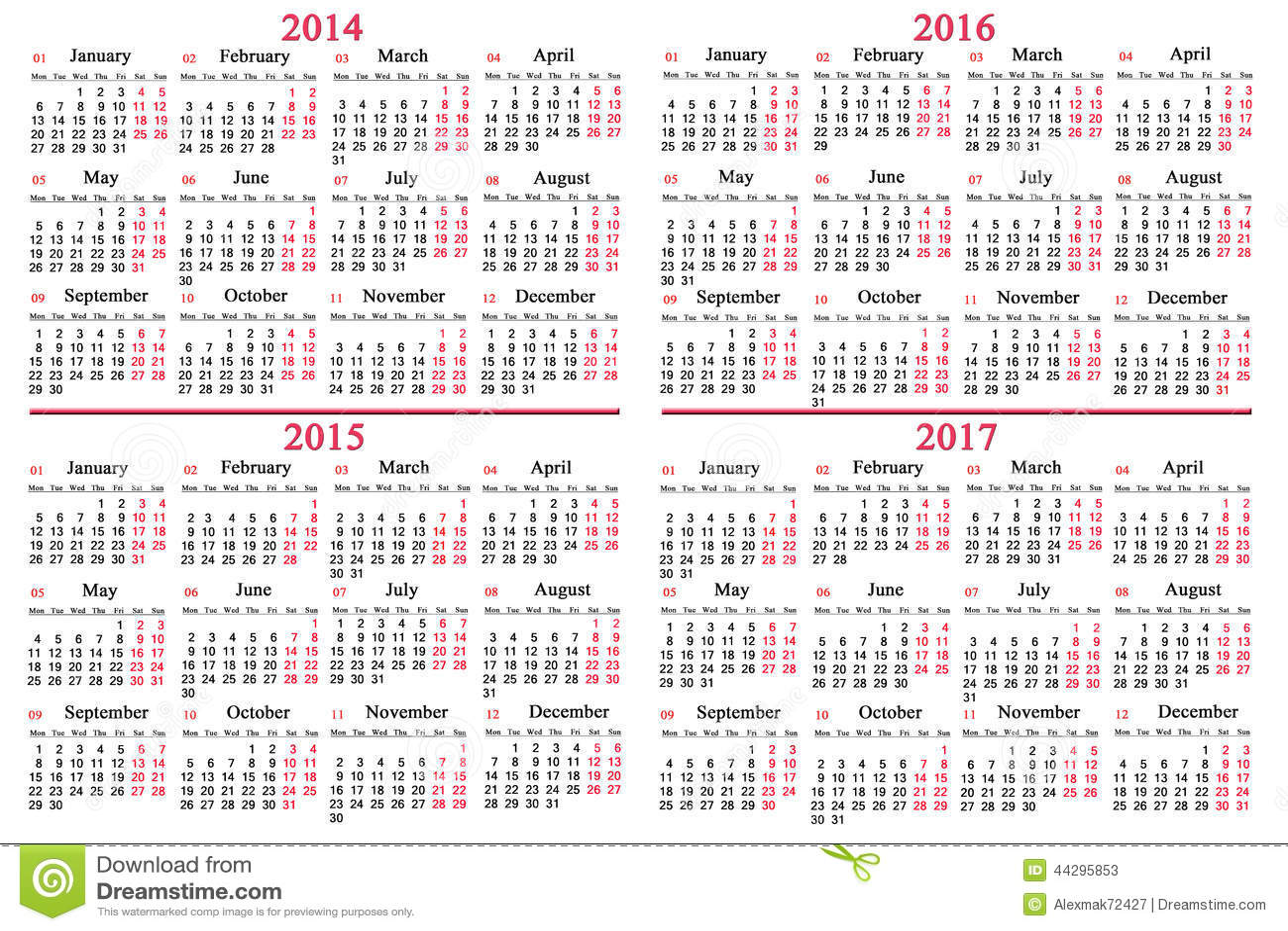 October calendar events 2017 free download
