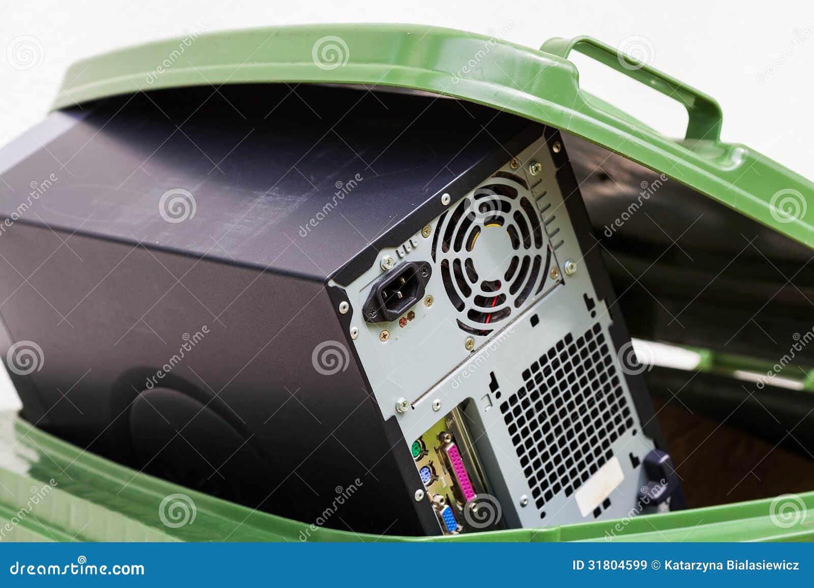 Uszkadzający komputer