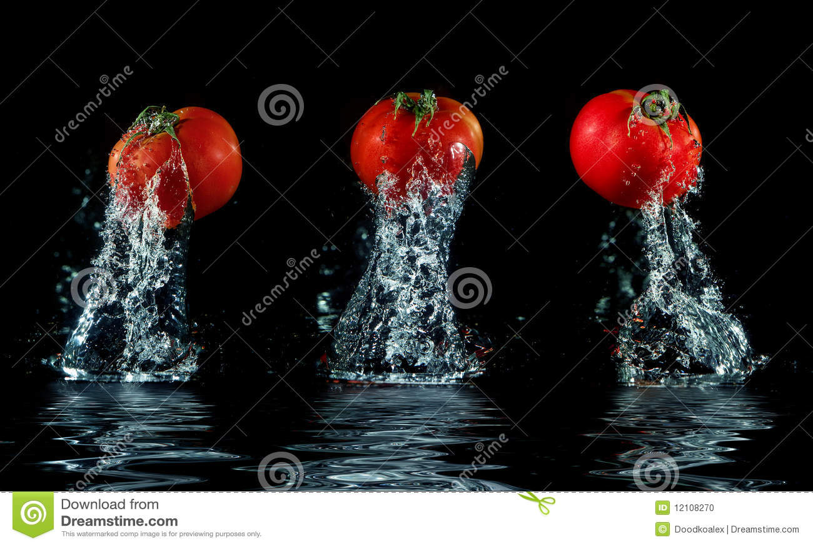 Ut plaska tomatvatten
