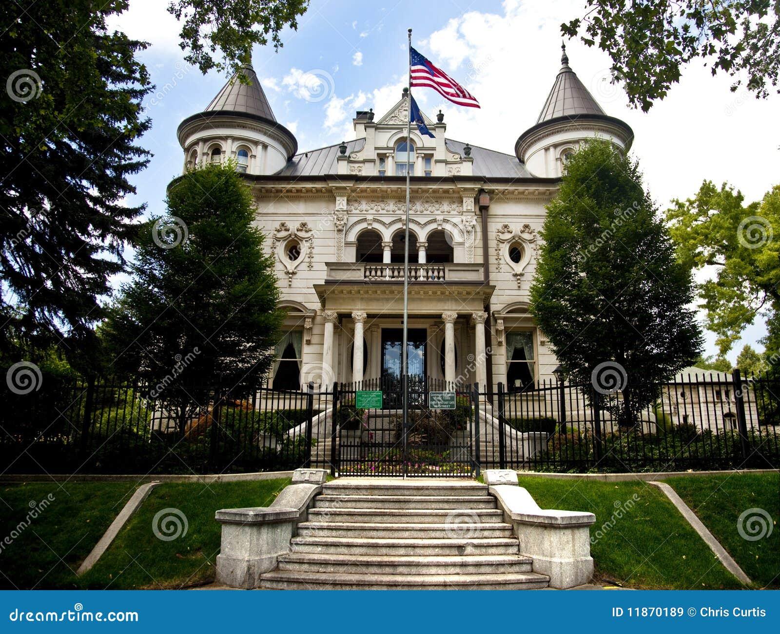 Utah Governor S Mansion Salt Lake City Royalty Free Stock