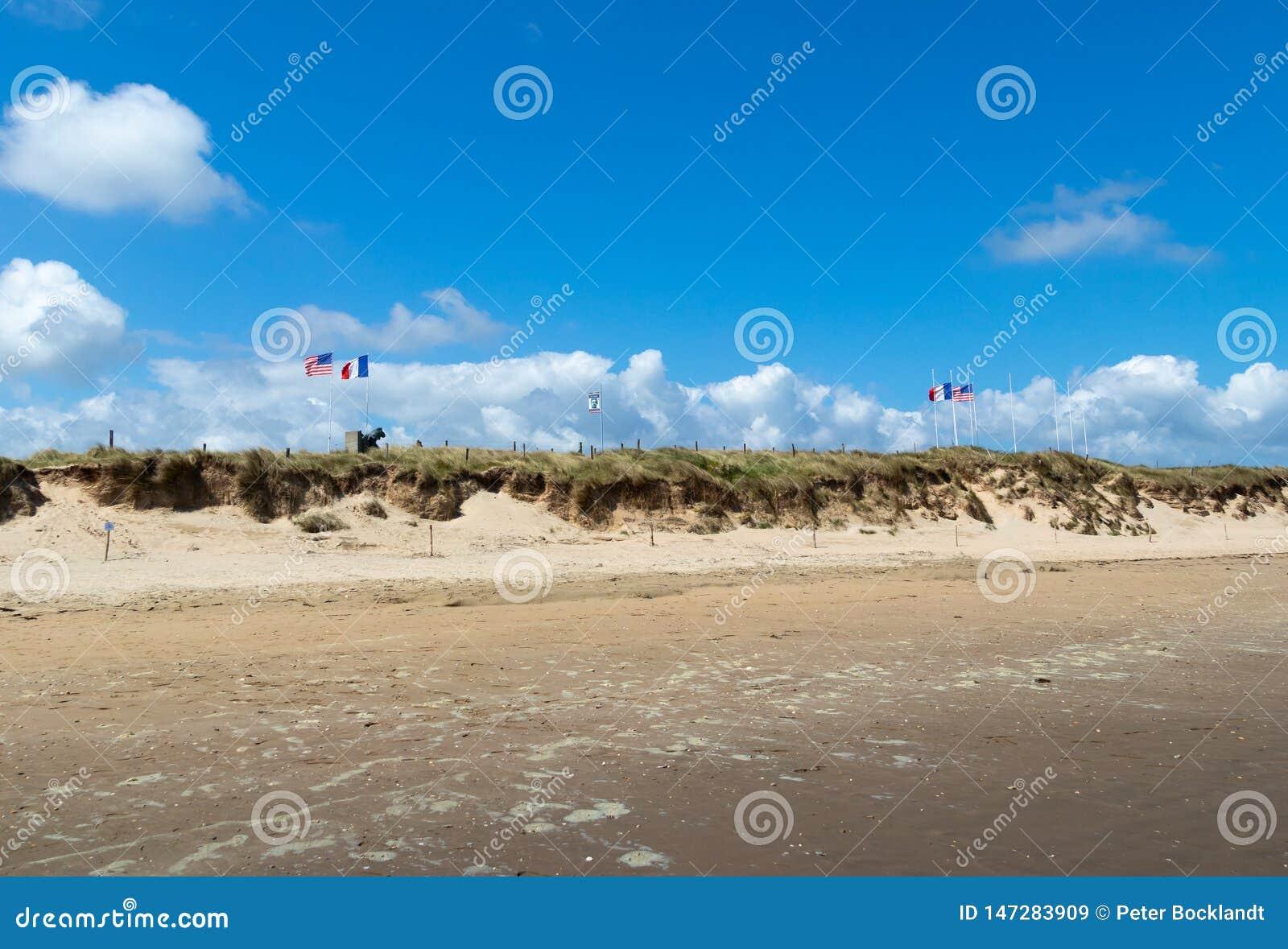 Utah plaża Normandy Francja