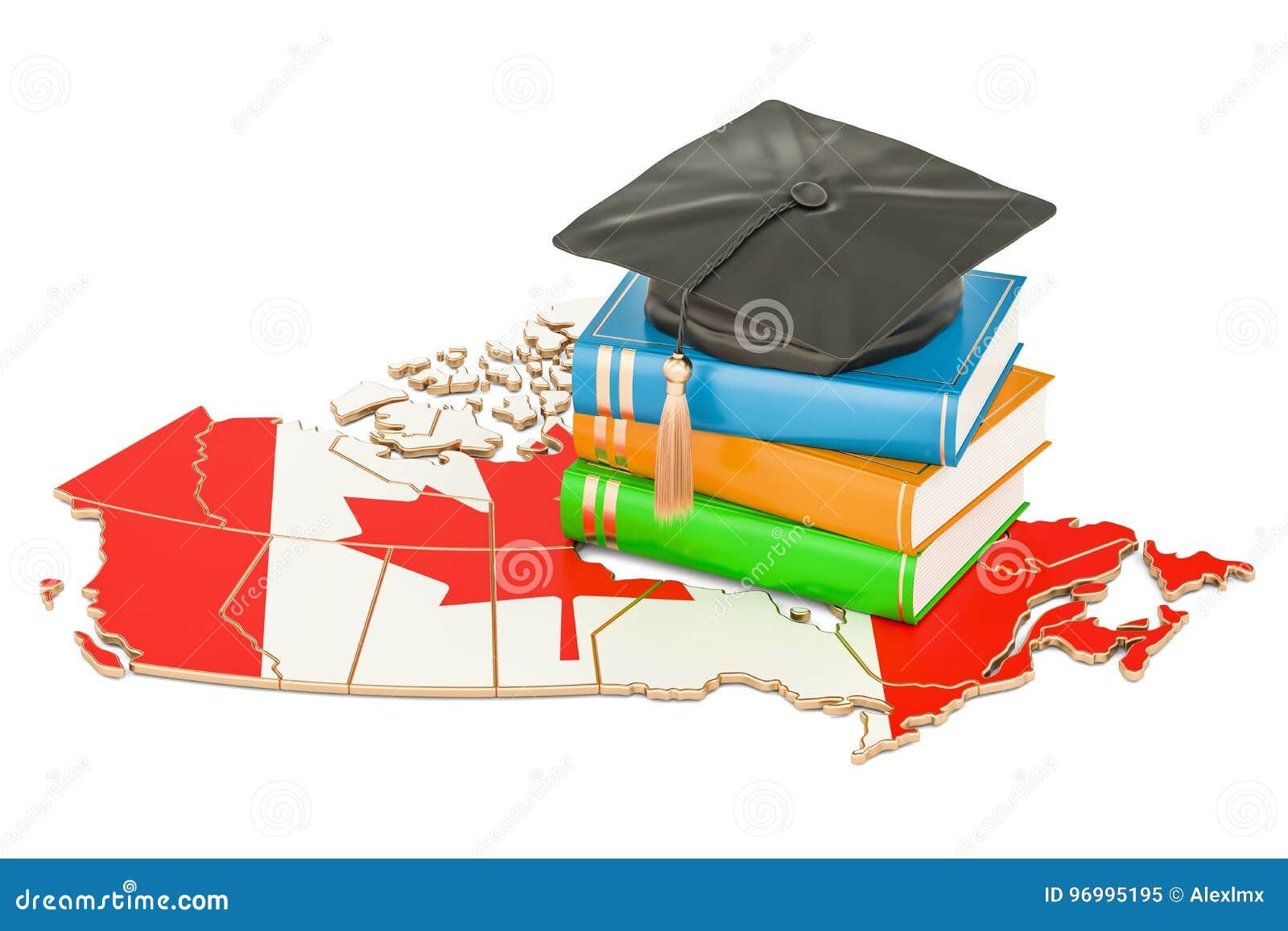 Utbildning i det Kanada begreppet, tolkning 3D